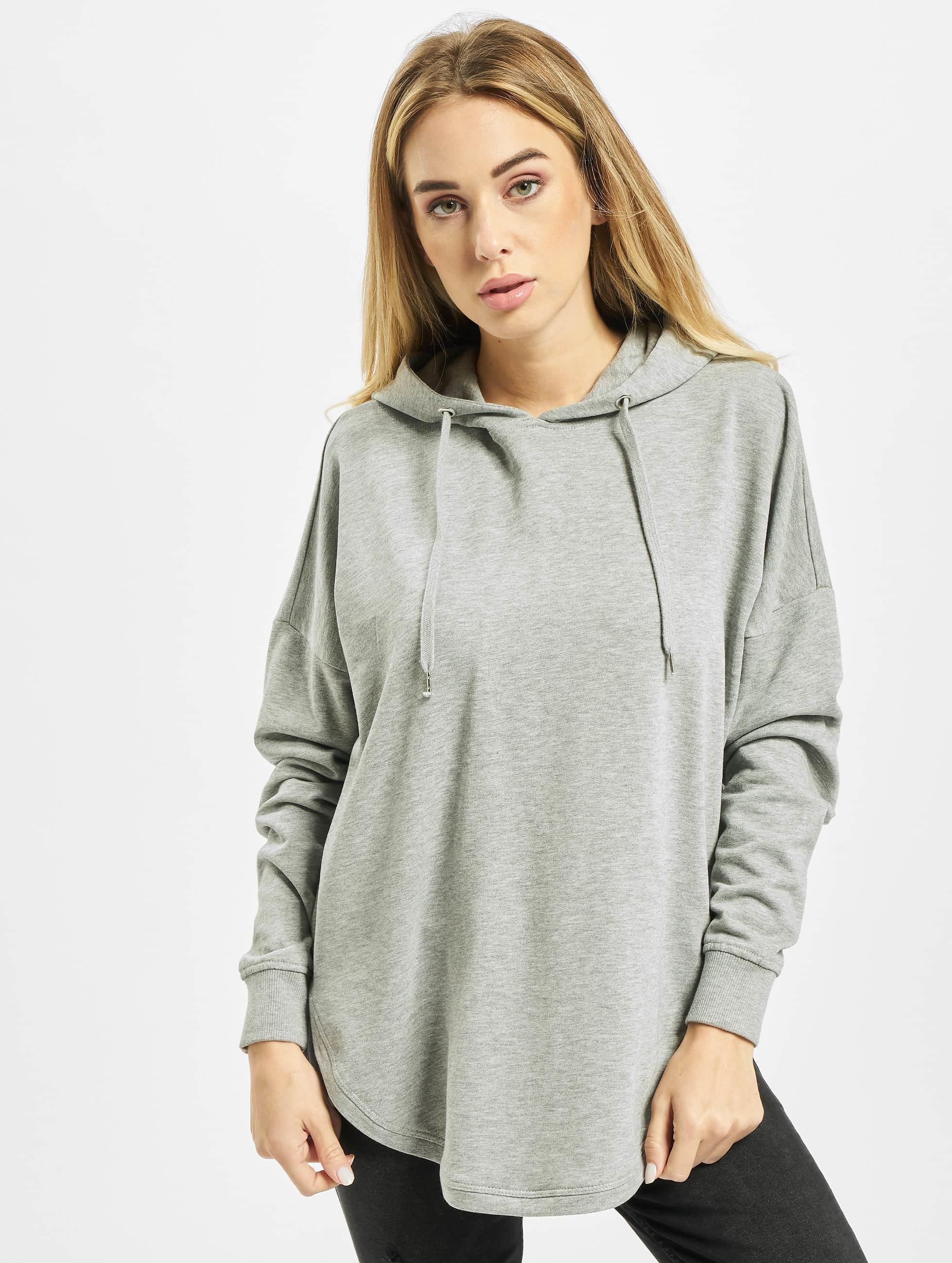 Urban Classics Hoodie Ladies Oversized Terry gray
