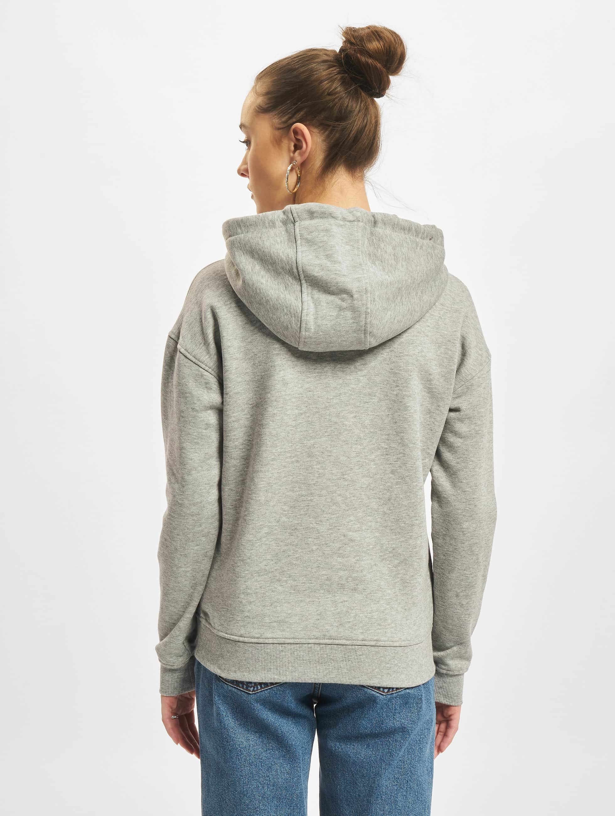 Urban Classics Hoodie Ladies grey