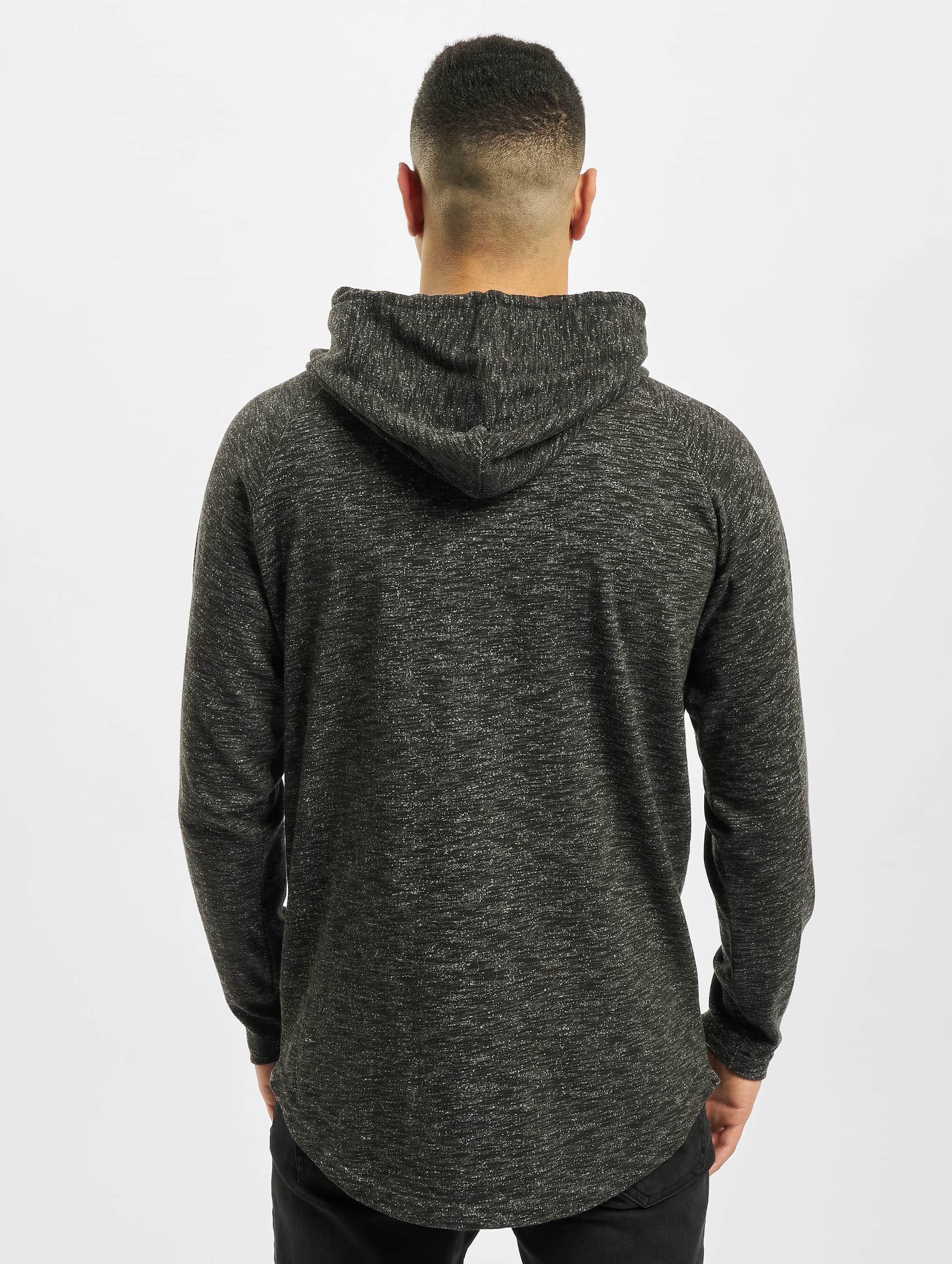 Urban Classics Hoodie Melange Shaped grey