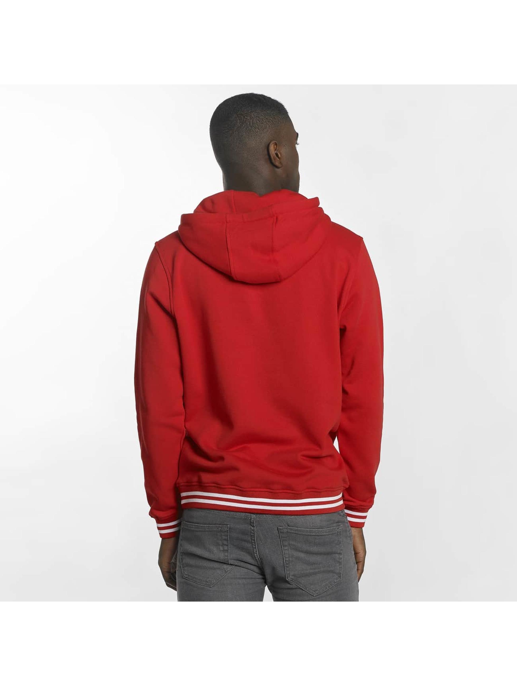 Urban Classics Hoodie College röd