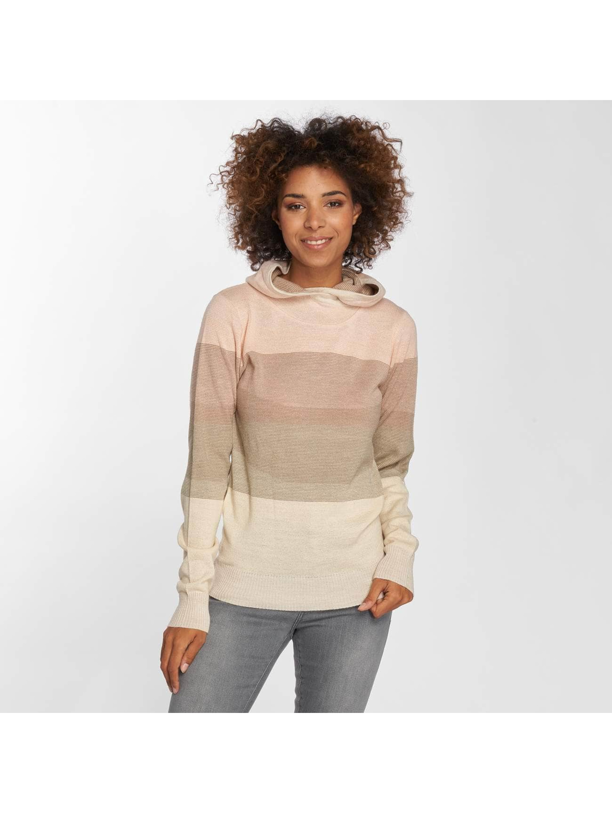 Urban Classics Hoodie Multicolored High Neck rose