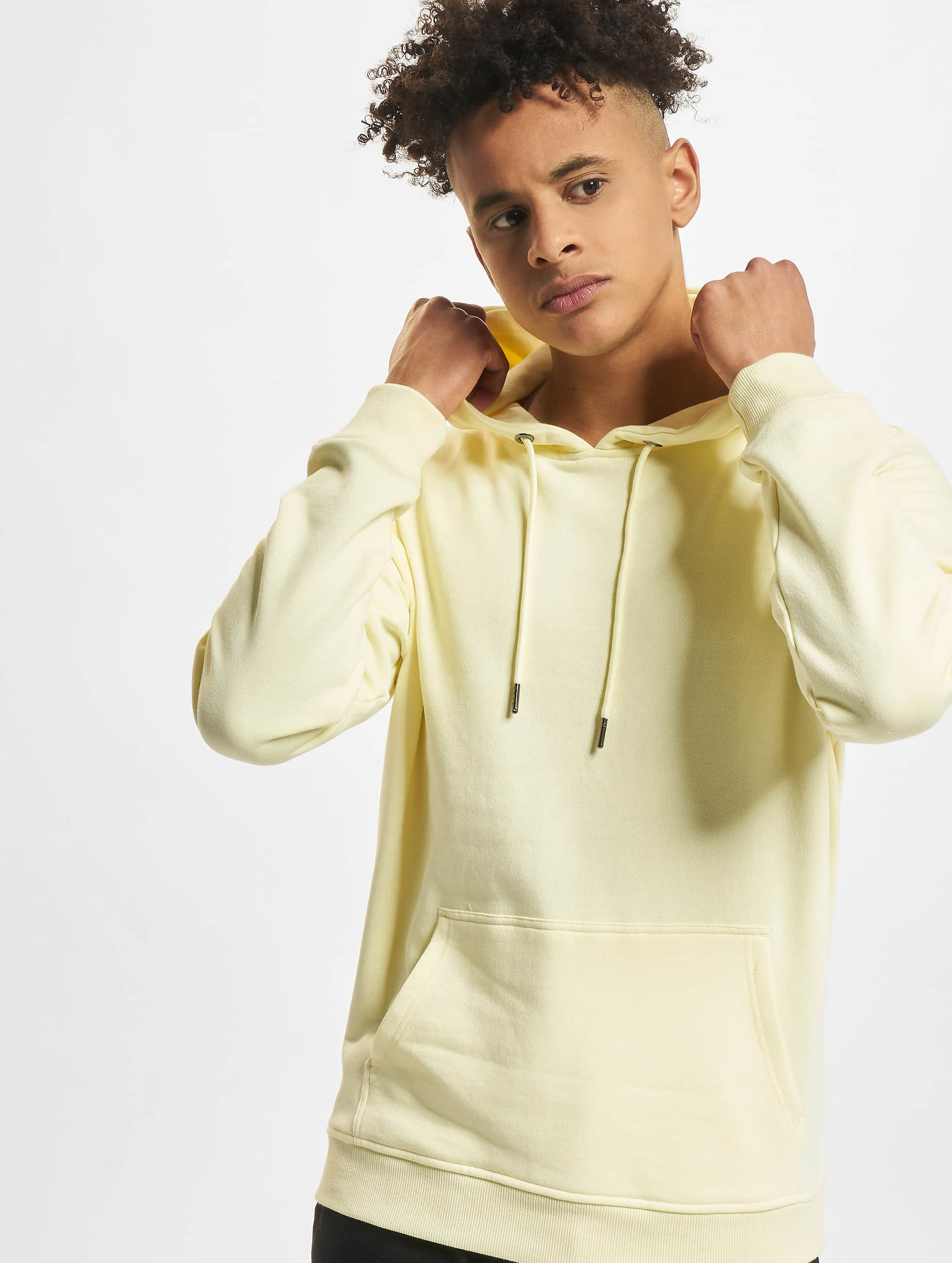 Urban Classics Hoodies Basic gul
