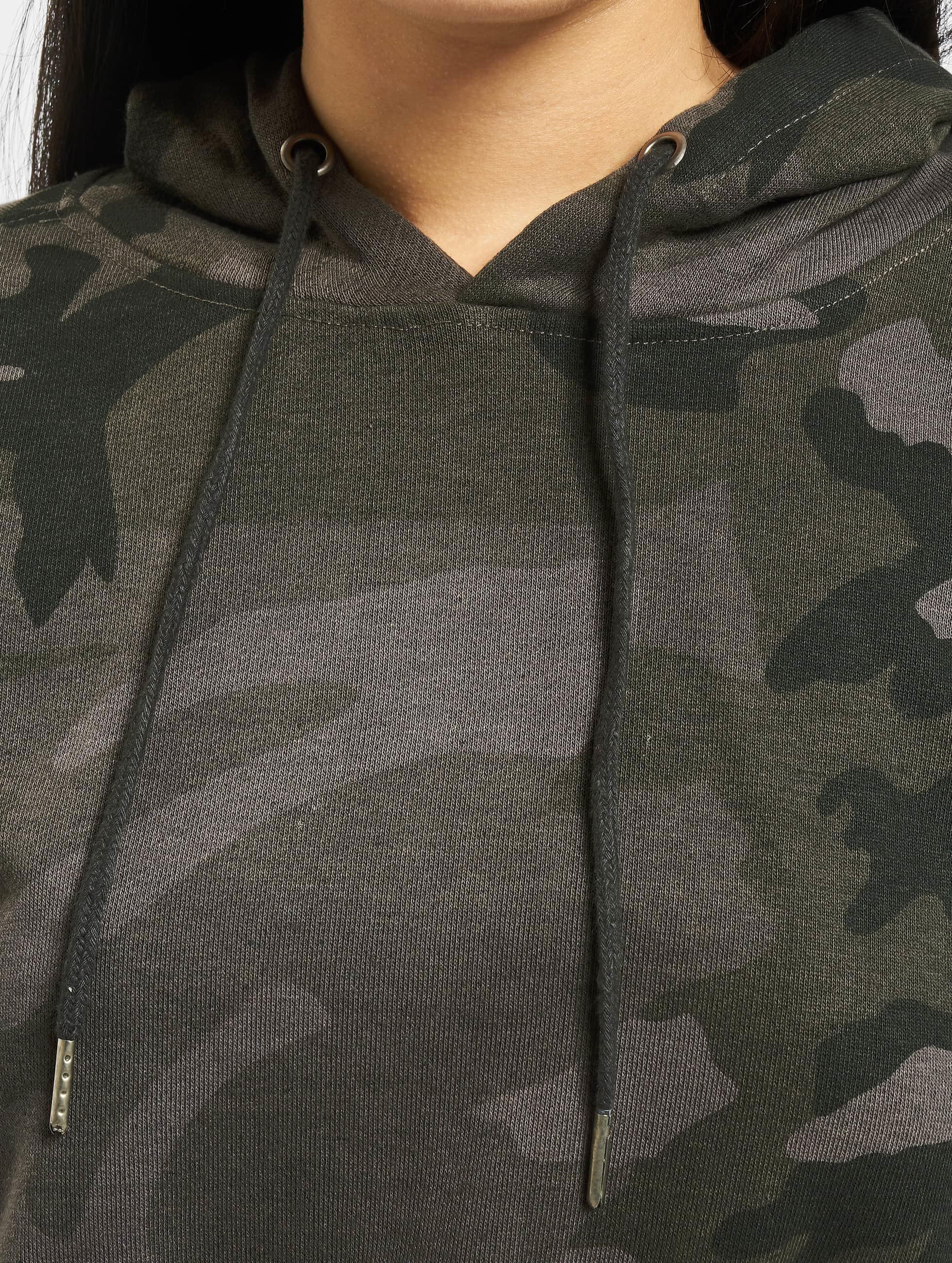 Urban Classics Hoody Camo Cropped camouflage