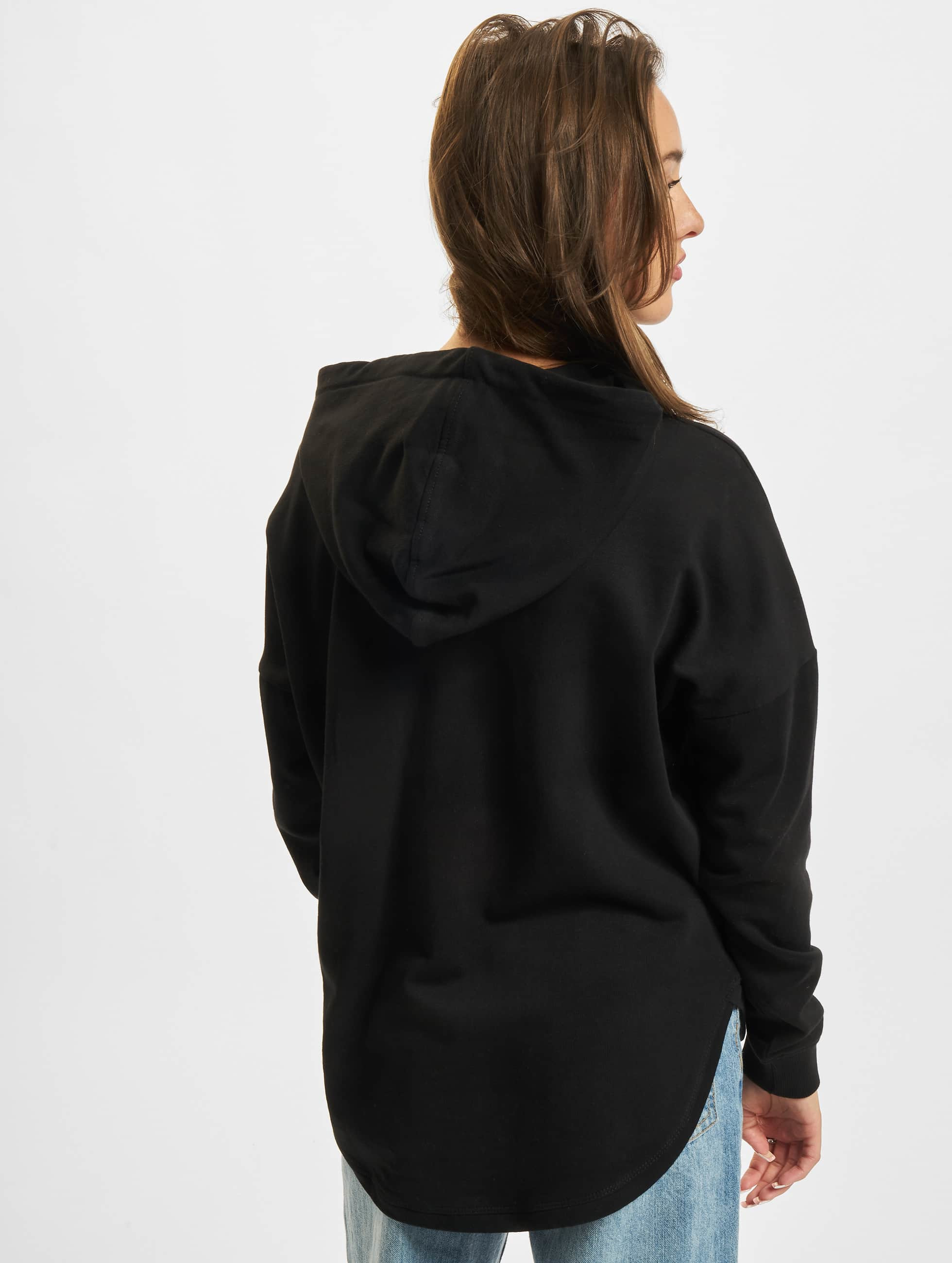 Urban Classics Hoody Ladies Oversized Terry zwart