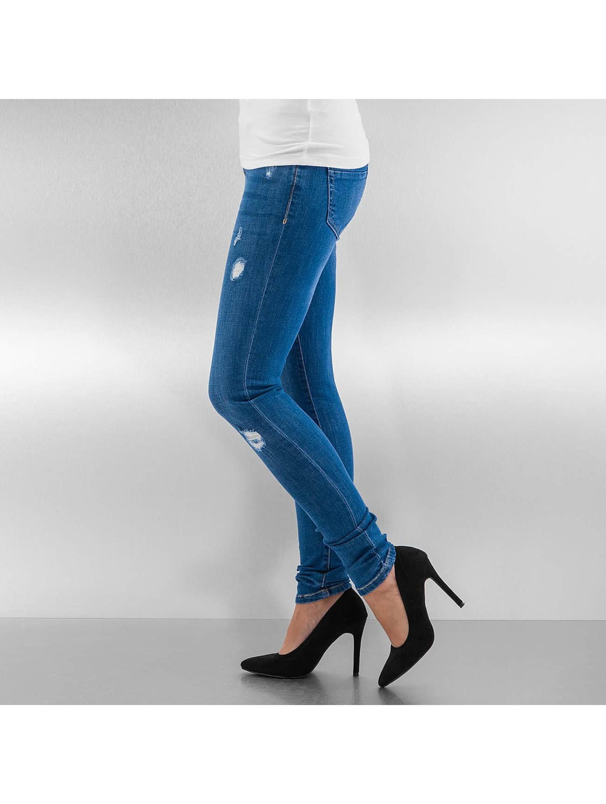 Urban Classics Jean skinny Ripped Denim bleu