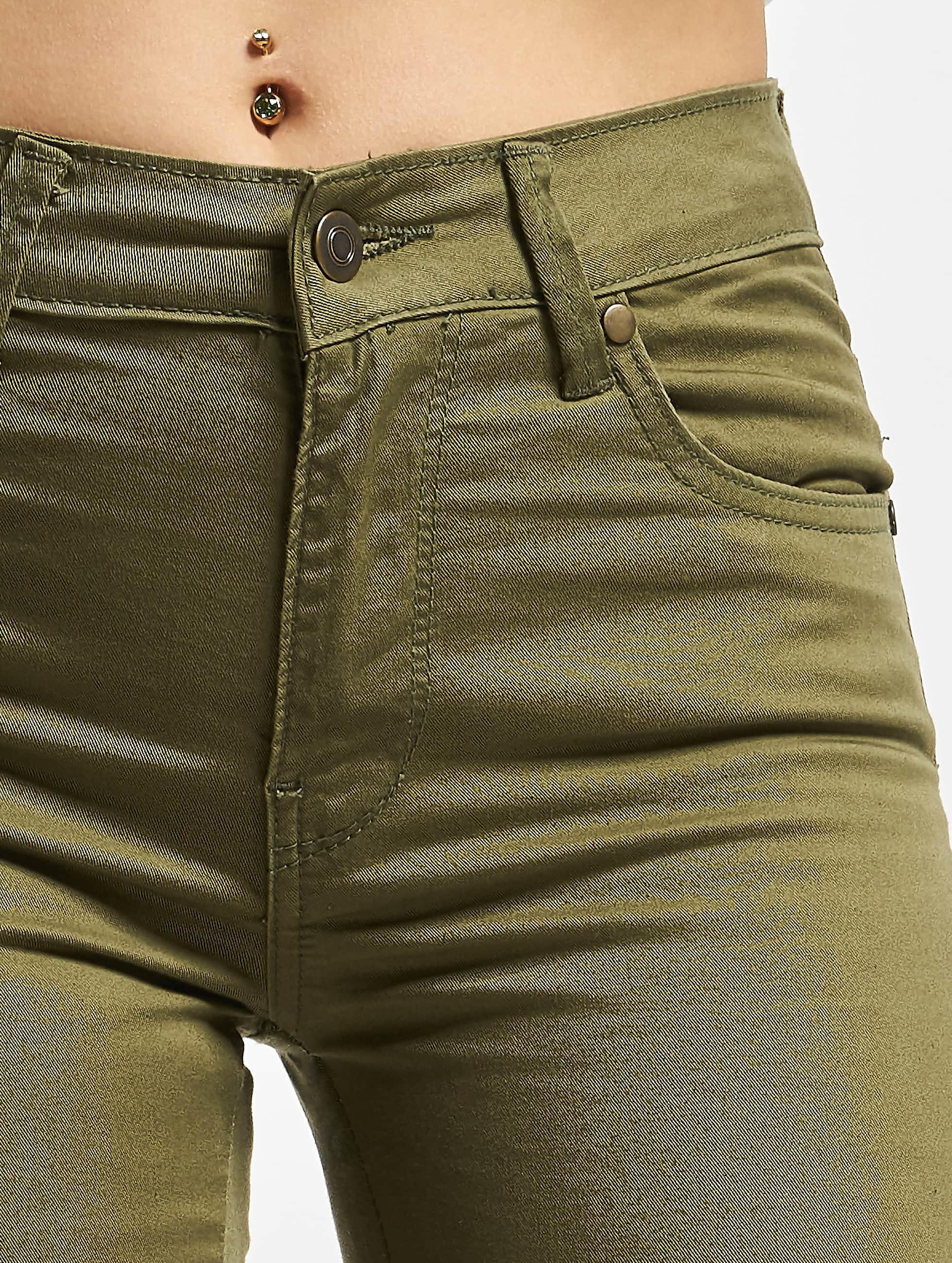 Urban Classics Jean skinny Ladies olive