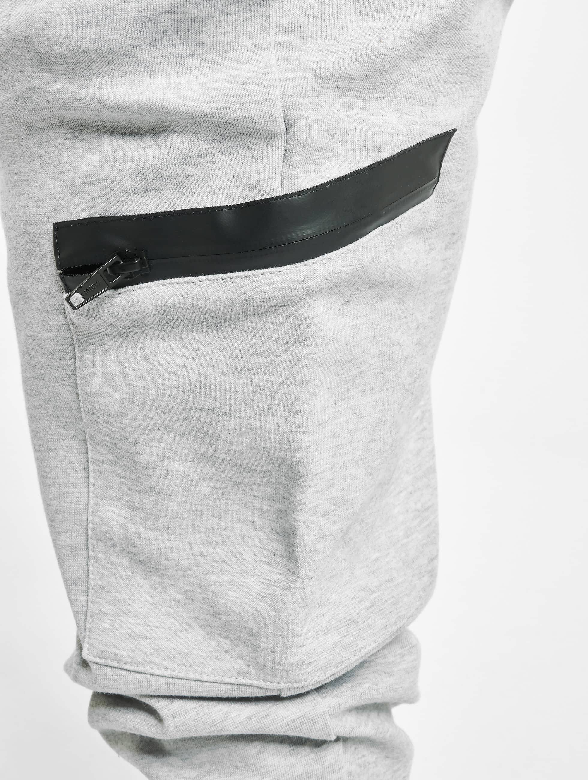Urban Classics Joggebukser Athletic Interlock grå