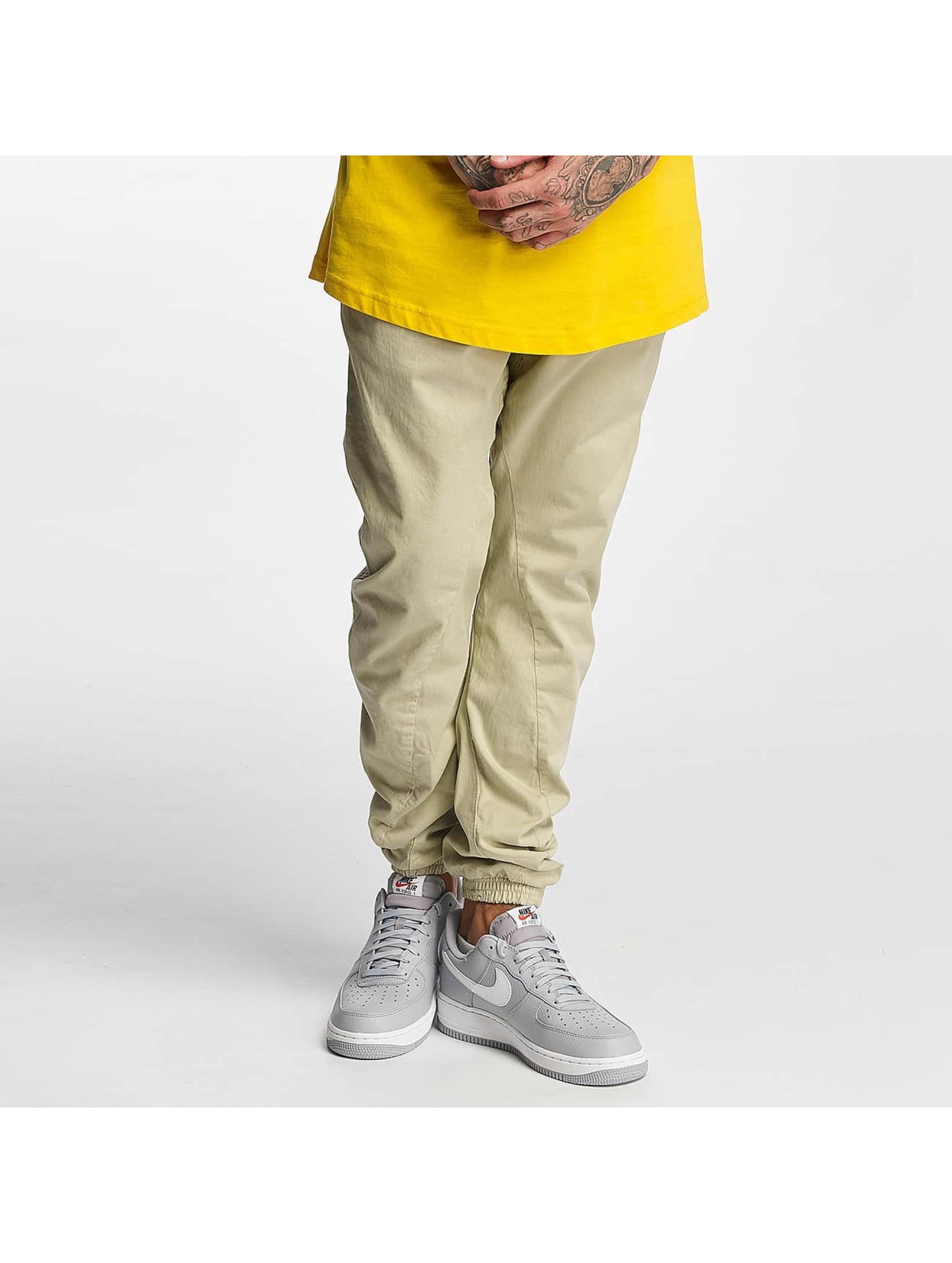 Urban Classics Jogging kalhoty Stretch béžový