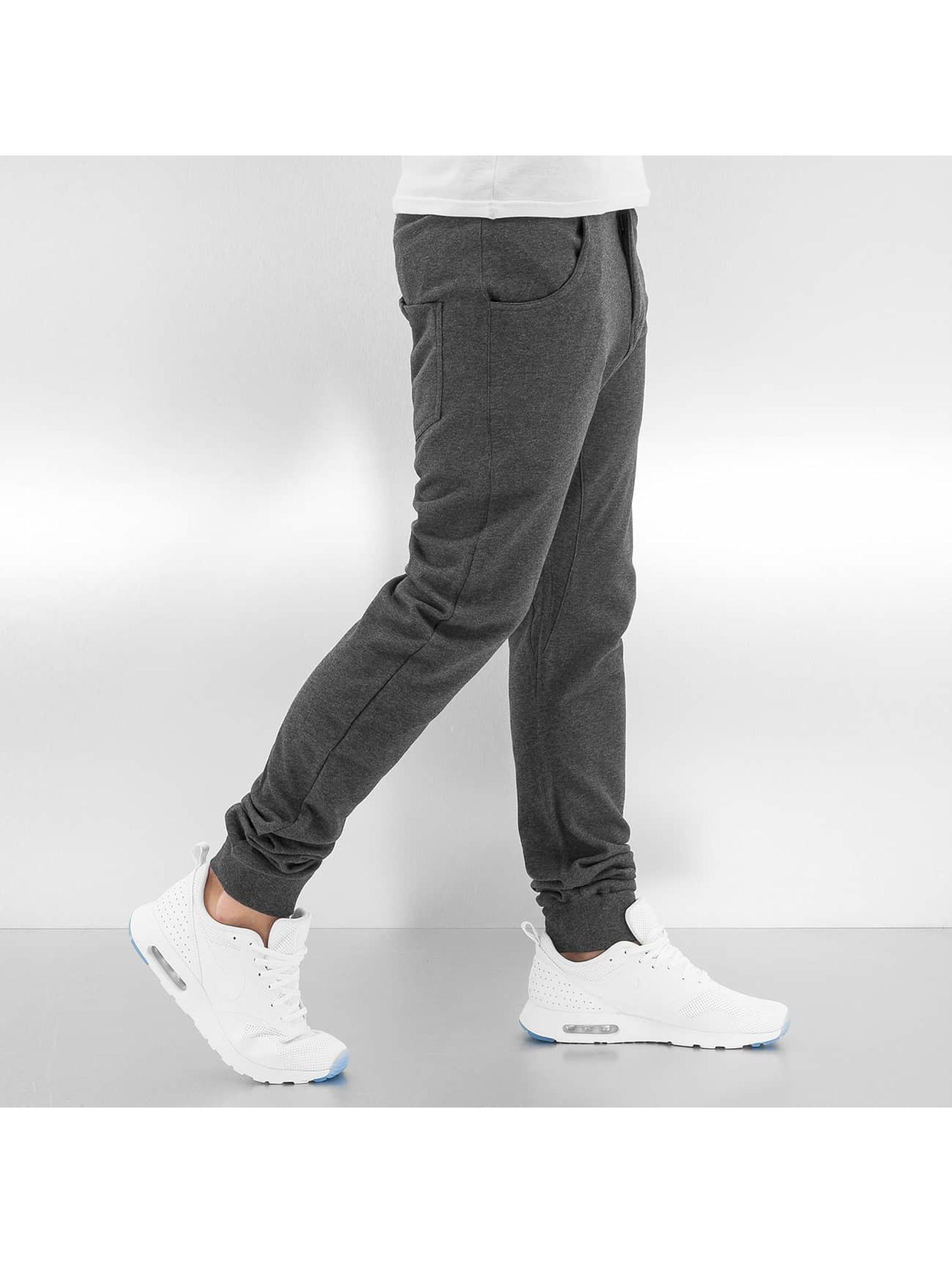 Urban Classics joggingbroek CurvedClassic grijs