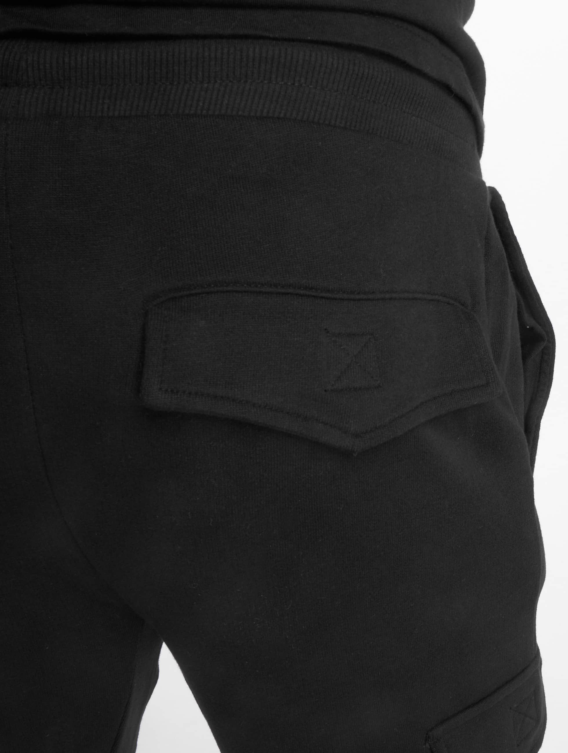Urban Classics joggingbroek Fitted Cargo zwart