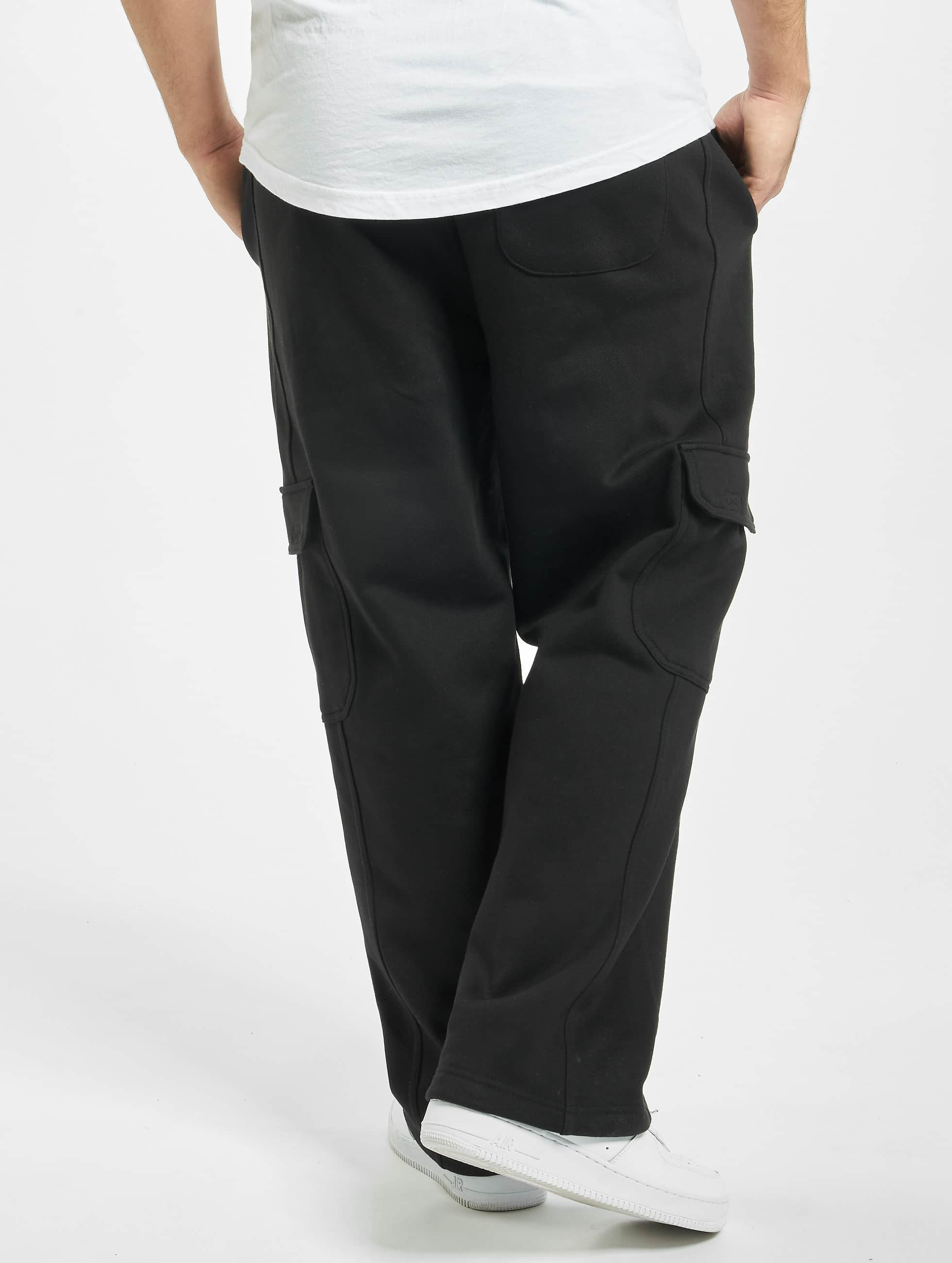 Urban Classics joggingbroek Cargo zwart