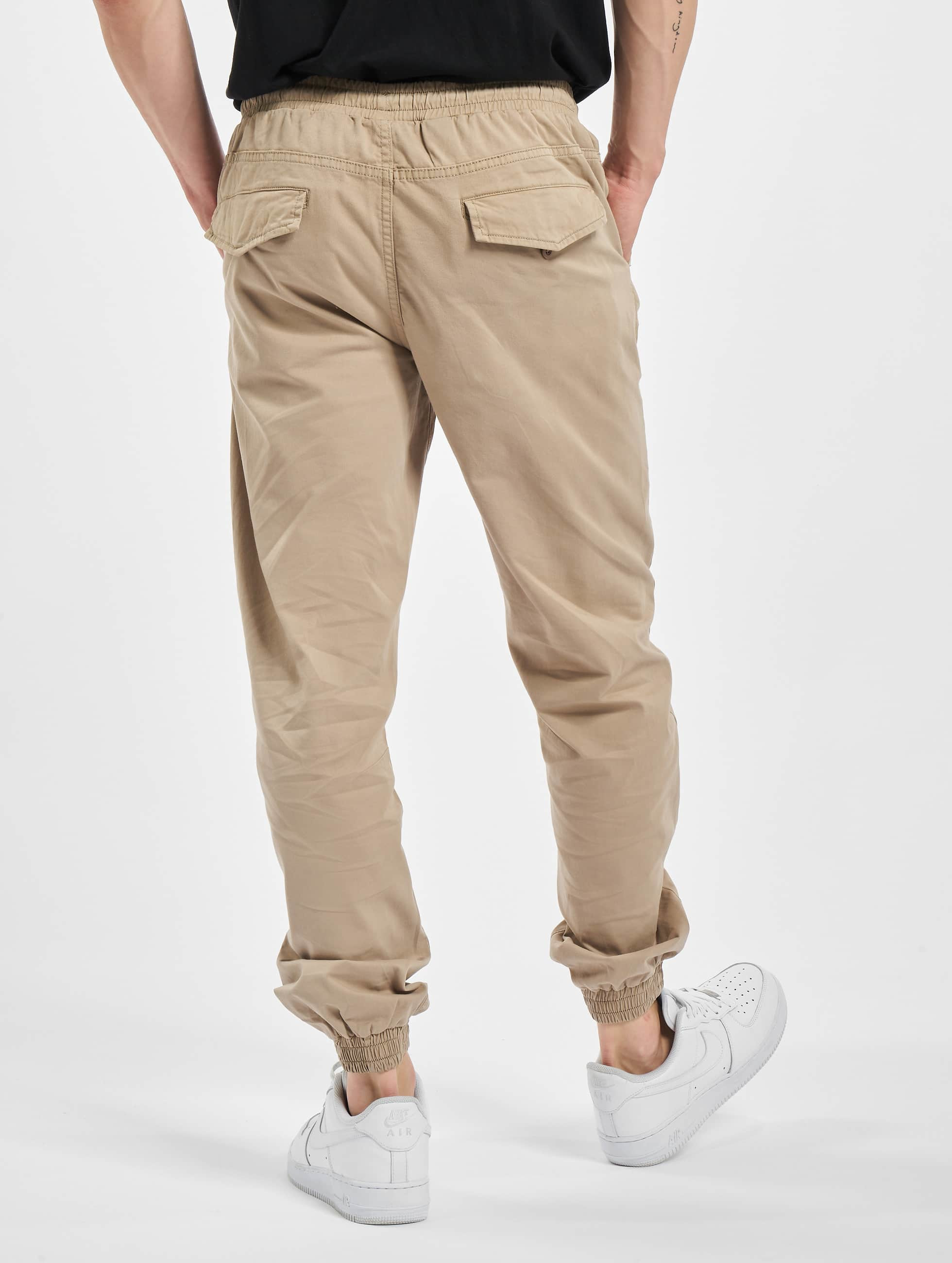 Urban Classics Jogginghose Stretch Twill beige