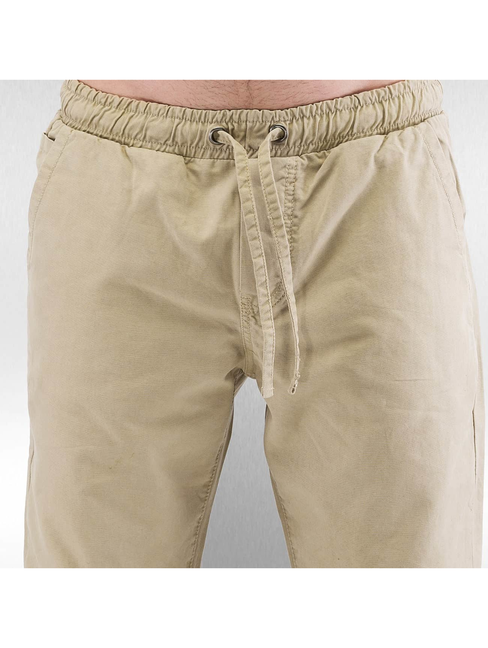 Urban Classics Jogginghose Washed Canvas beige