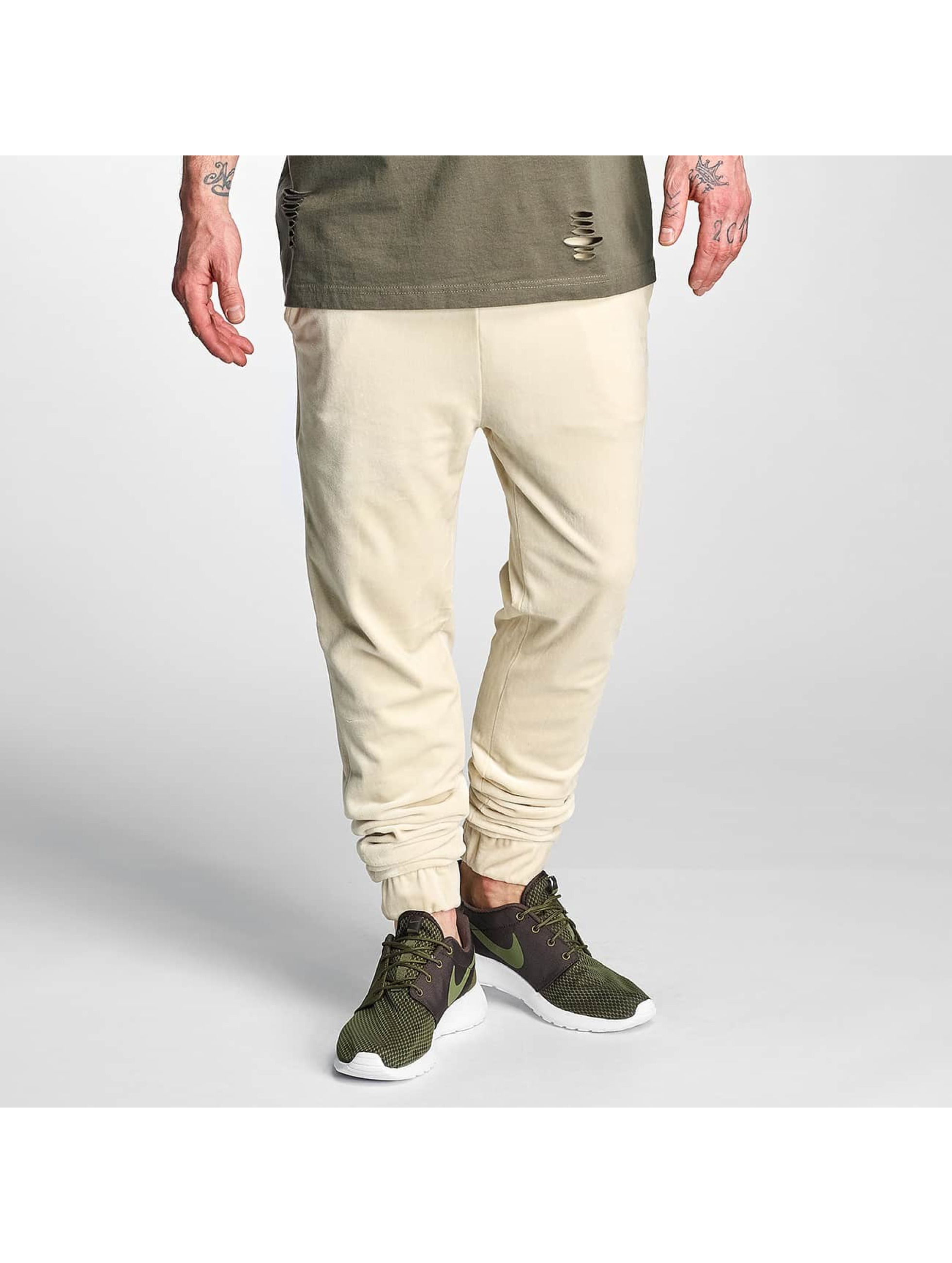 Jogginghose Velvet in beige