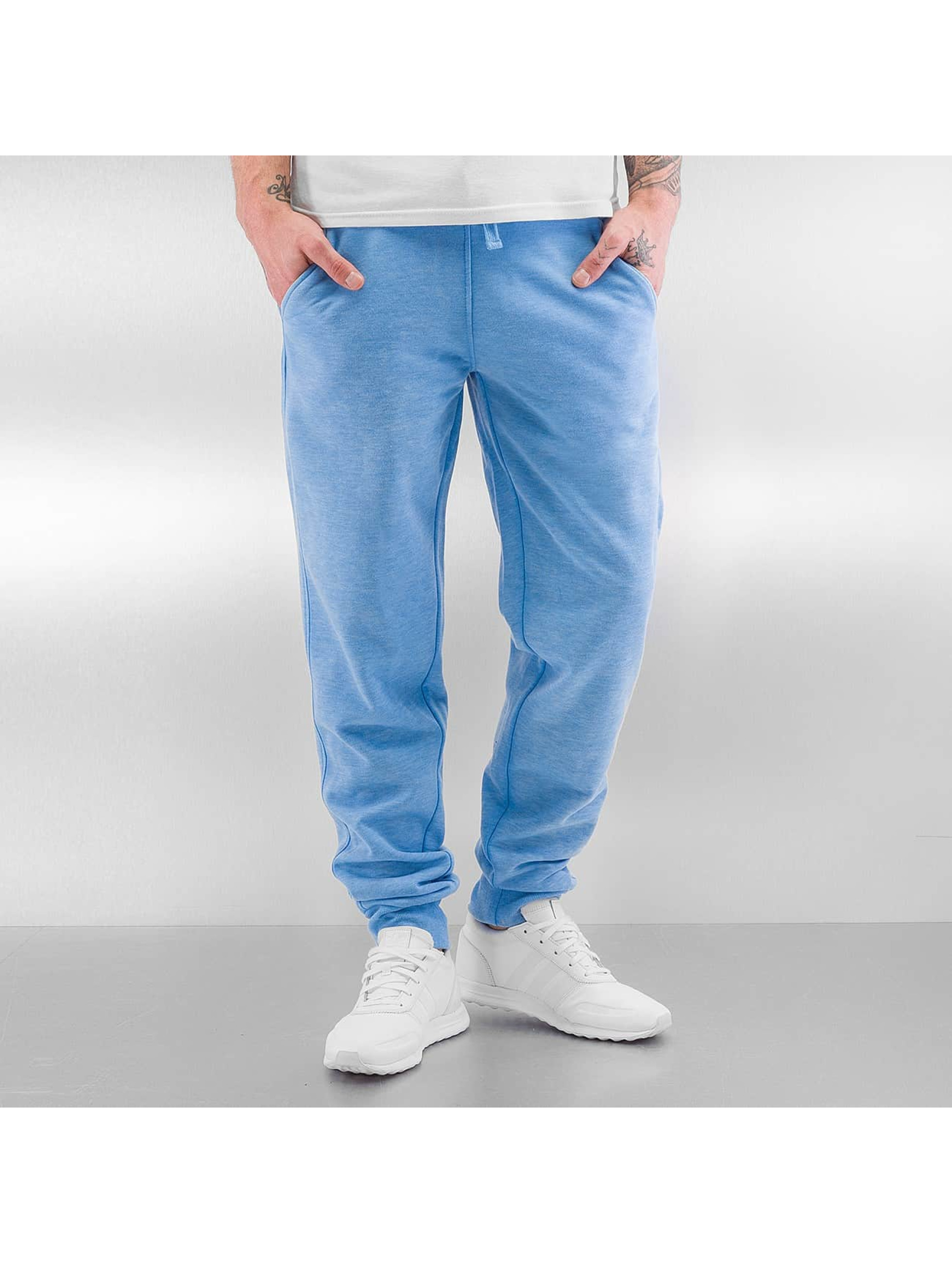 Urban Classics Jogginghose Burnout blau