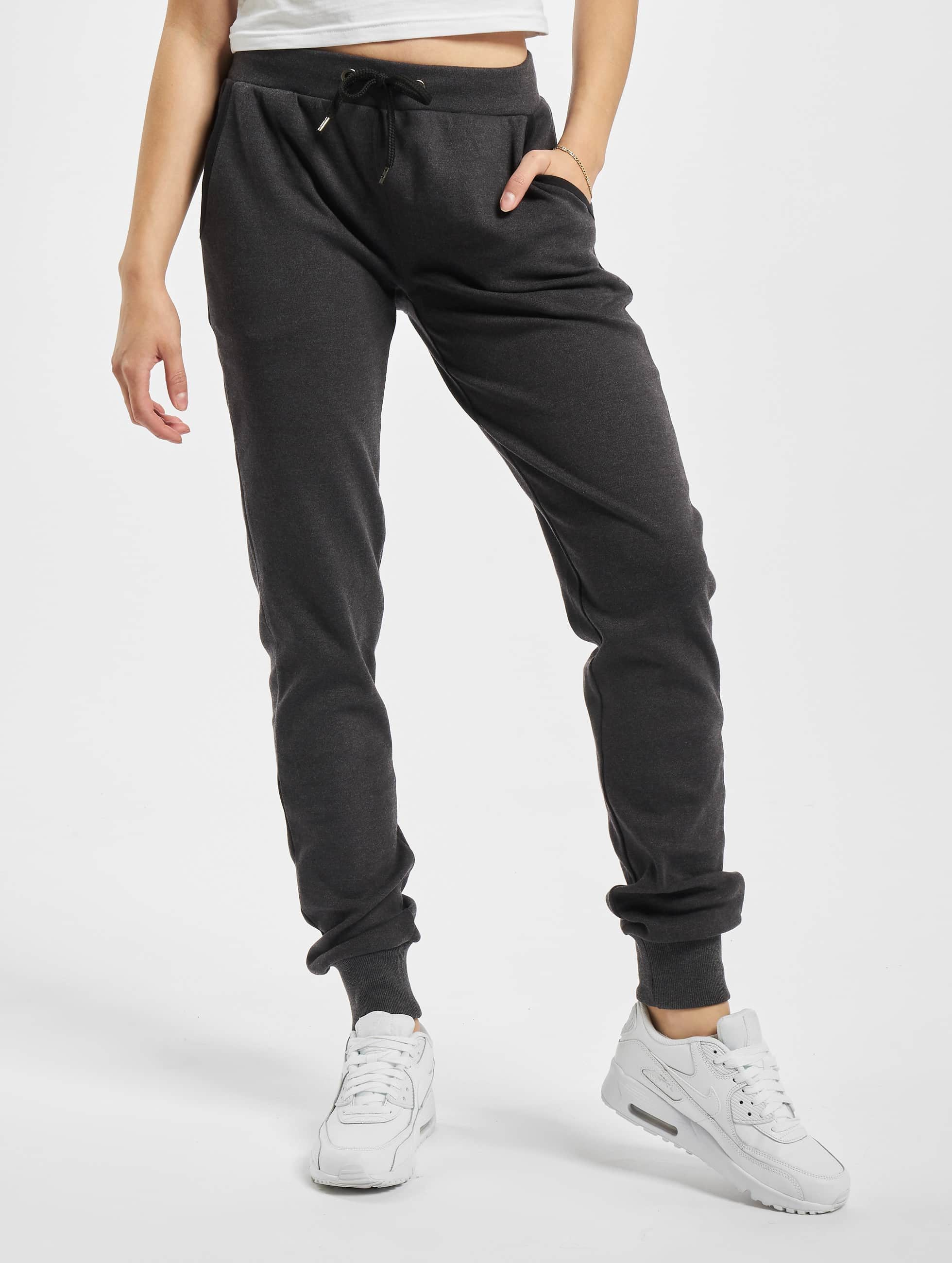 Urban Classics Jogginghose Fitted Athletic grau