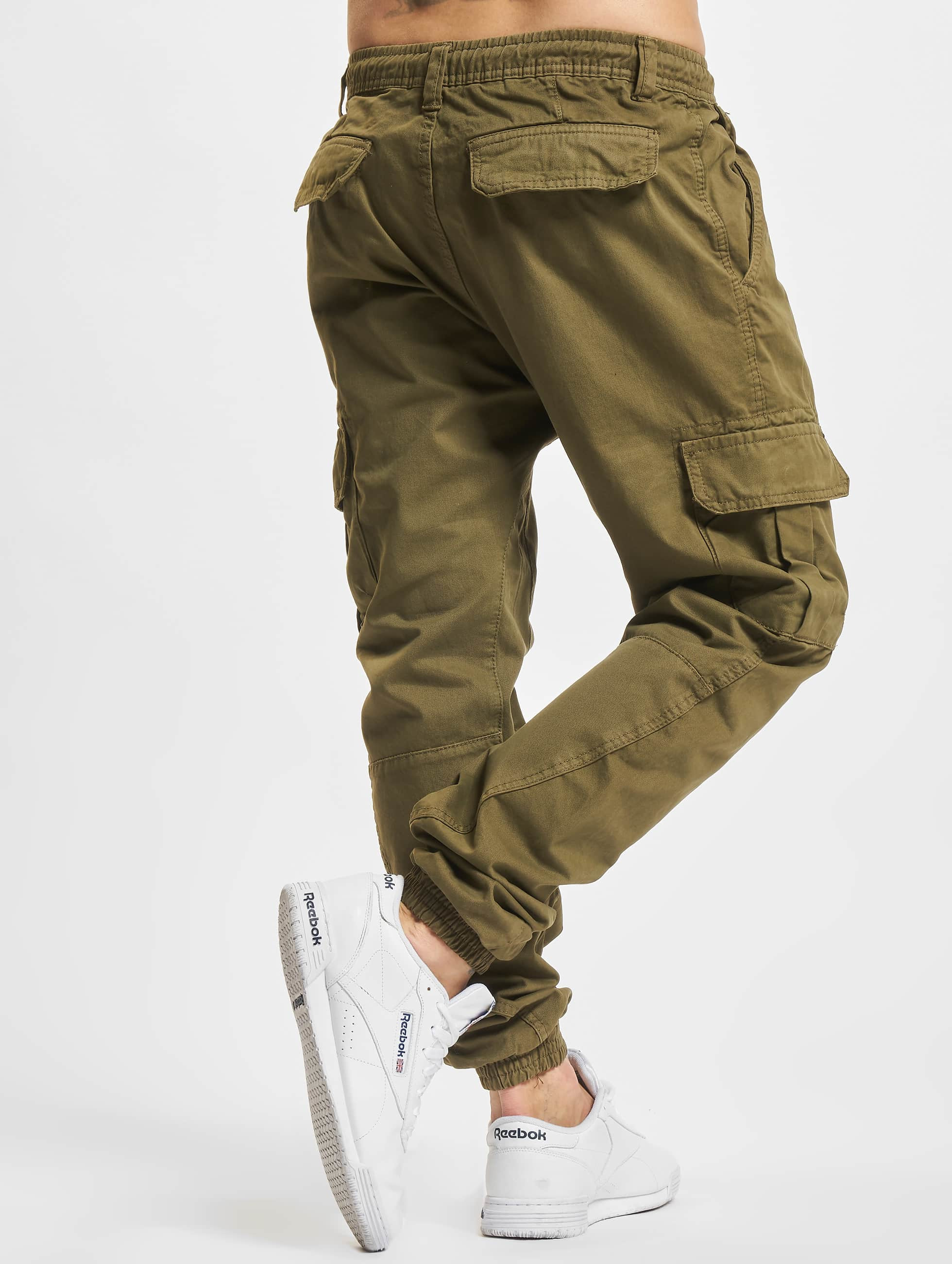 Jogginghose Cargo Jogging in olive