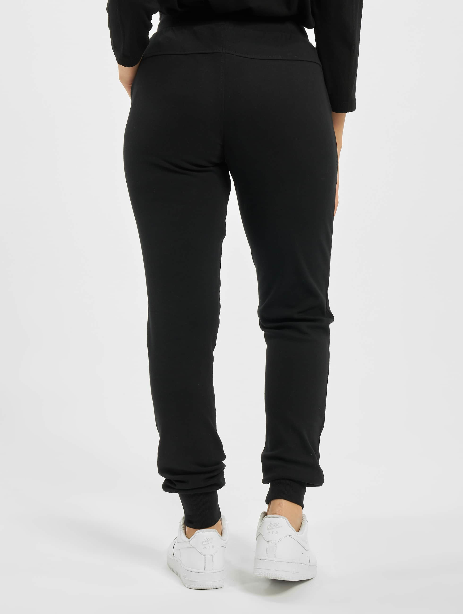 Urban Classics Jogginghose Fitted Athletic schwarz