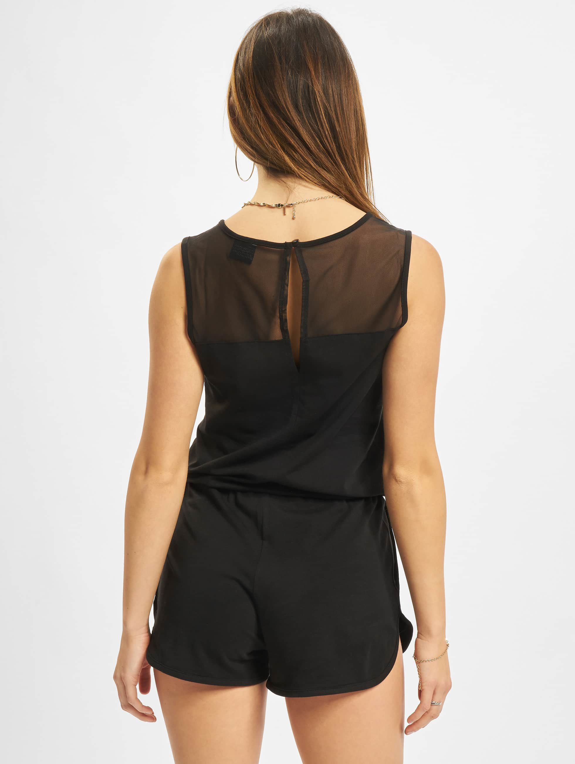 Urban Classics Jumpsuits Tech Hot czarny