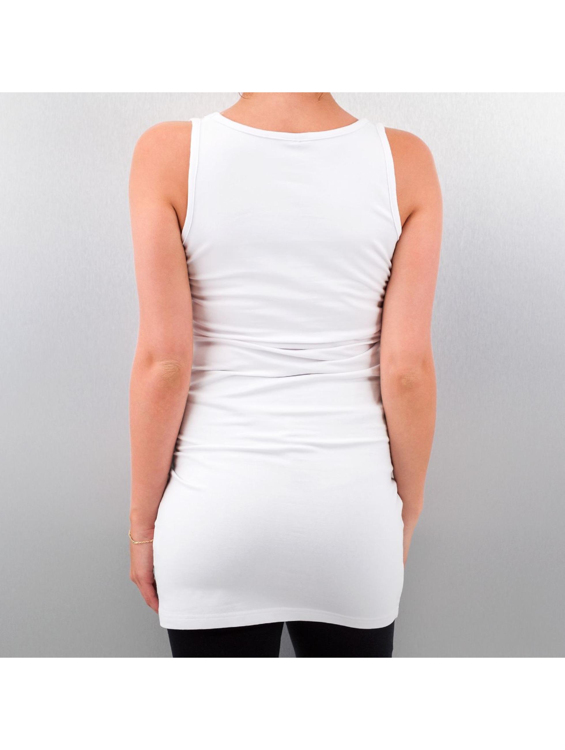 Urban Classics Kleid Sleeveless weiß