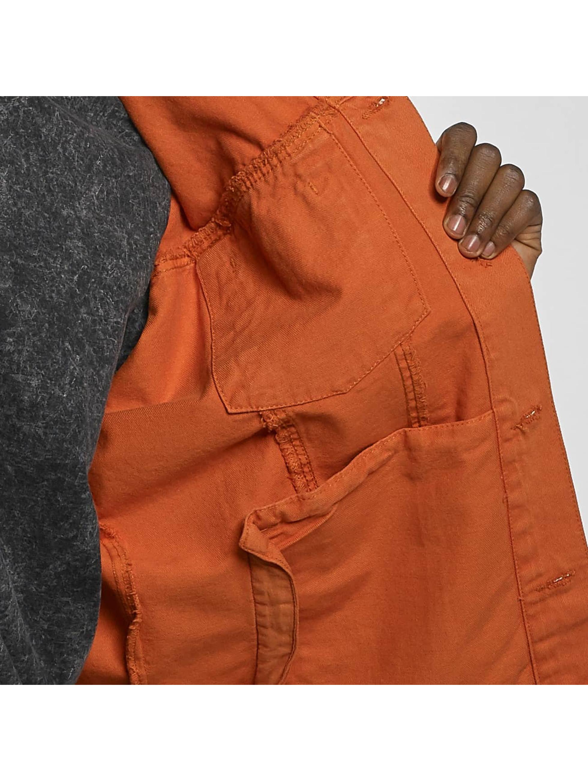 Urban Classics Kurtki przejściowe Garment Dye Oversize pomaranczowy