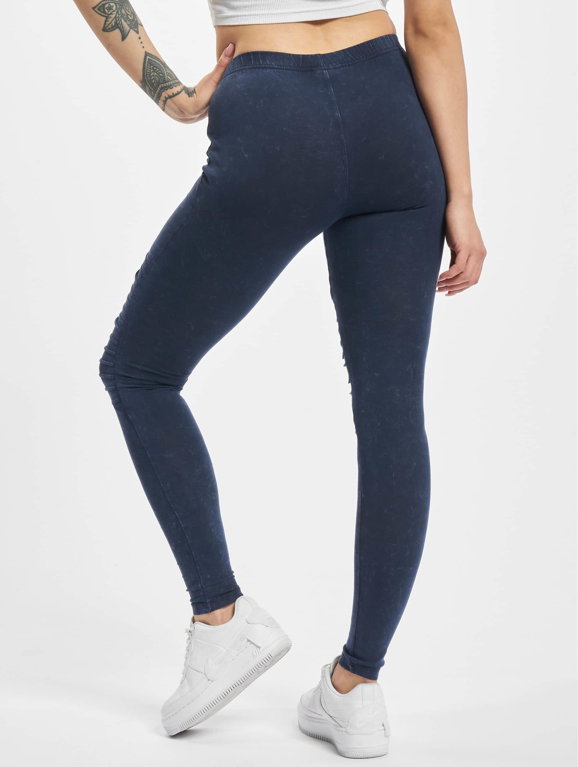Urban Classics Legging Denim Jersey blauw