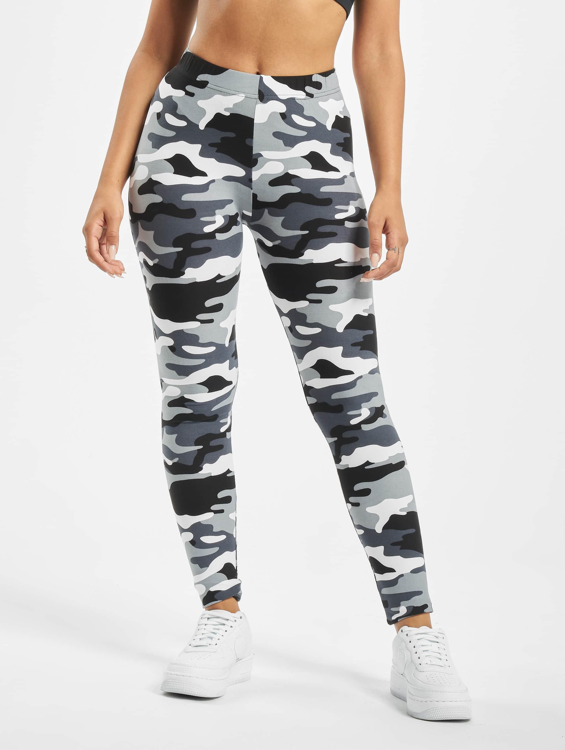urban classics damen legging ladies camo in camouflage 304605. Black Bedroom Furniture Sets. Home Design Ideas