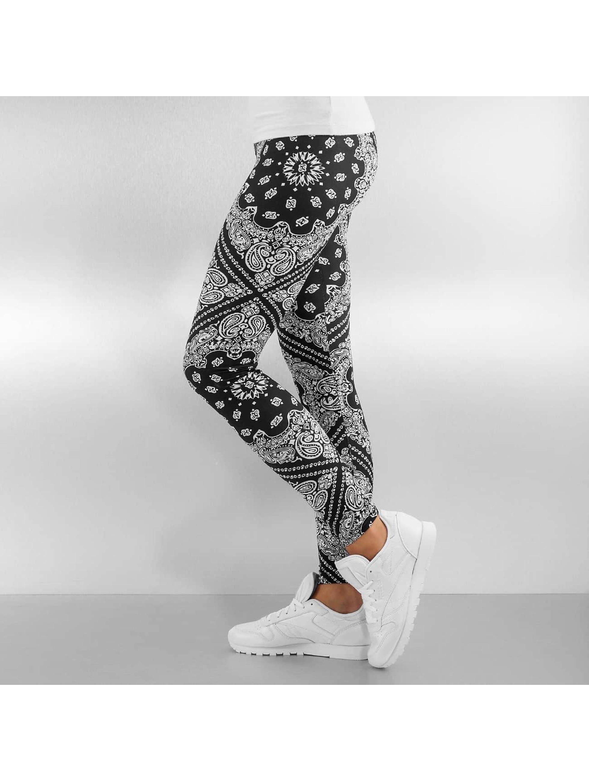 Urban Classics Legging Bandana zwart