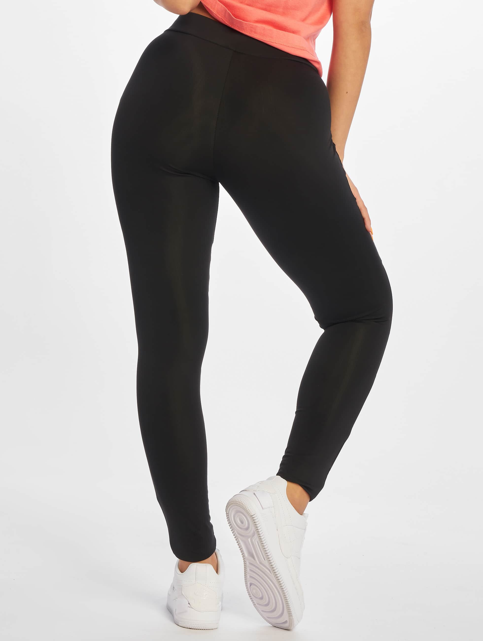 Urban Classics Leggings Ladies Tech Mesh nero