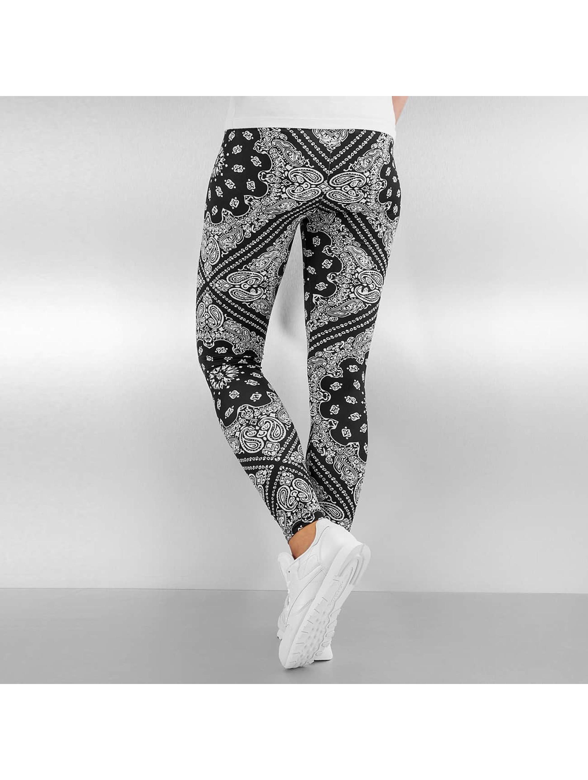 Urban Classics Leggings Bandana svart