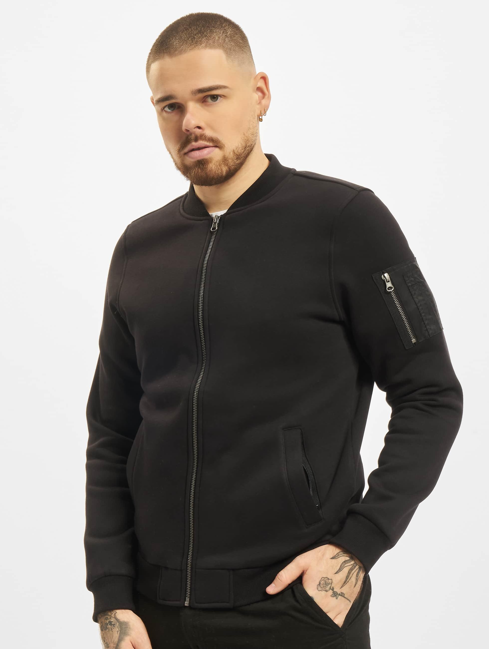 Urban Classics Lightweight Jacket Sweat black