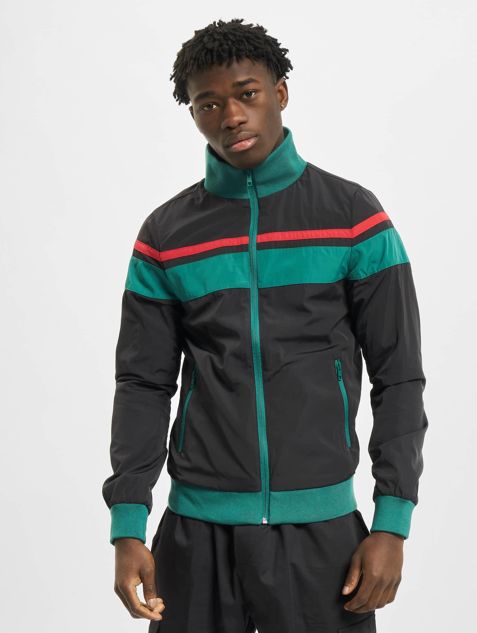 Urban Classics Lightweight Jacket Nylon 3-Tone black