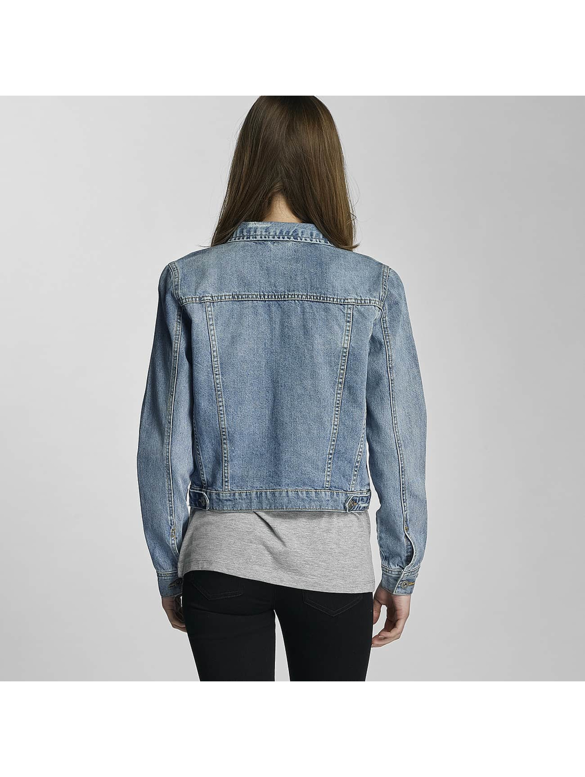Urban Classics Lightweight Jacket Ladies Denim blue