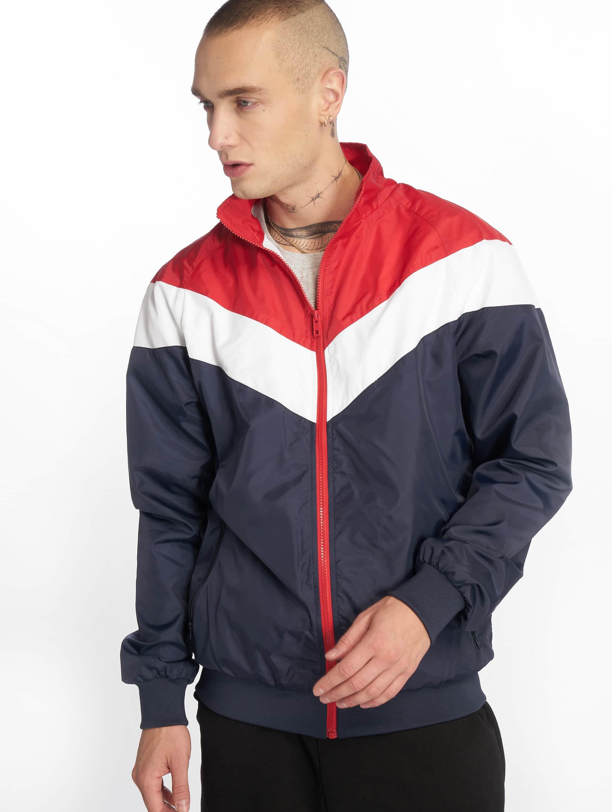 Urban Classics Lightweight Jacket Arrow blue
