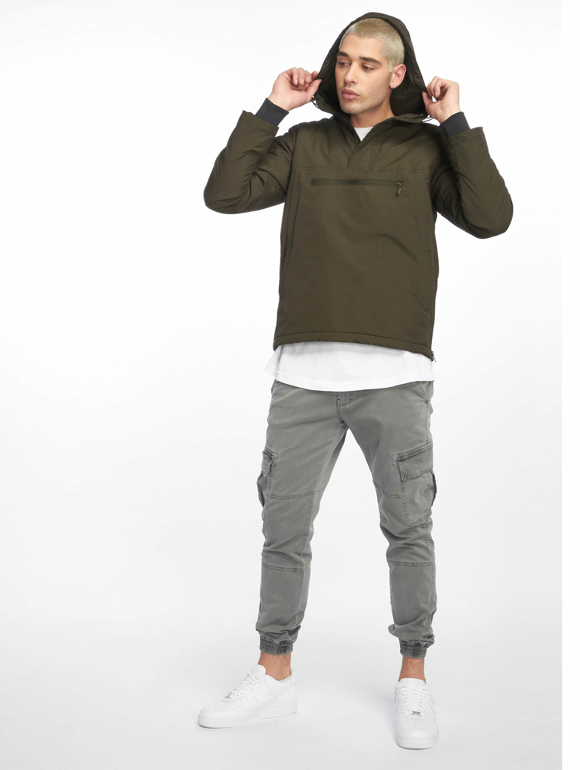 Urban Classics Lightweight Jacket Padded Pull olive