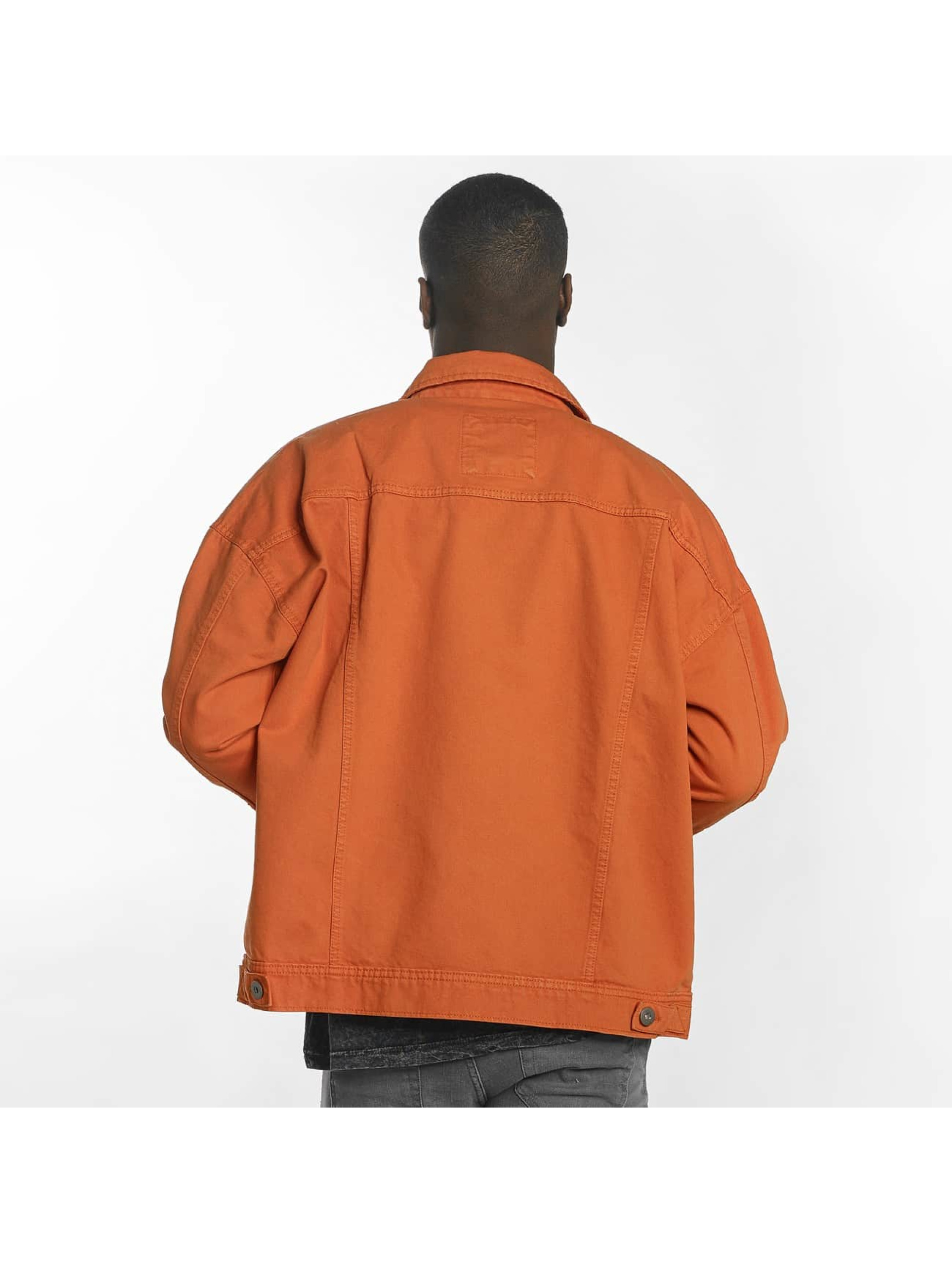 Urban Classics Lightweight Jacket Garment Dye Oversize orange