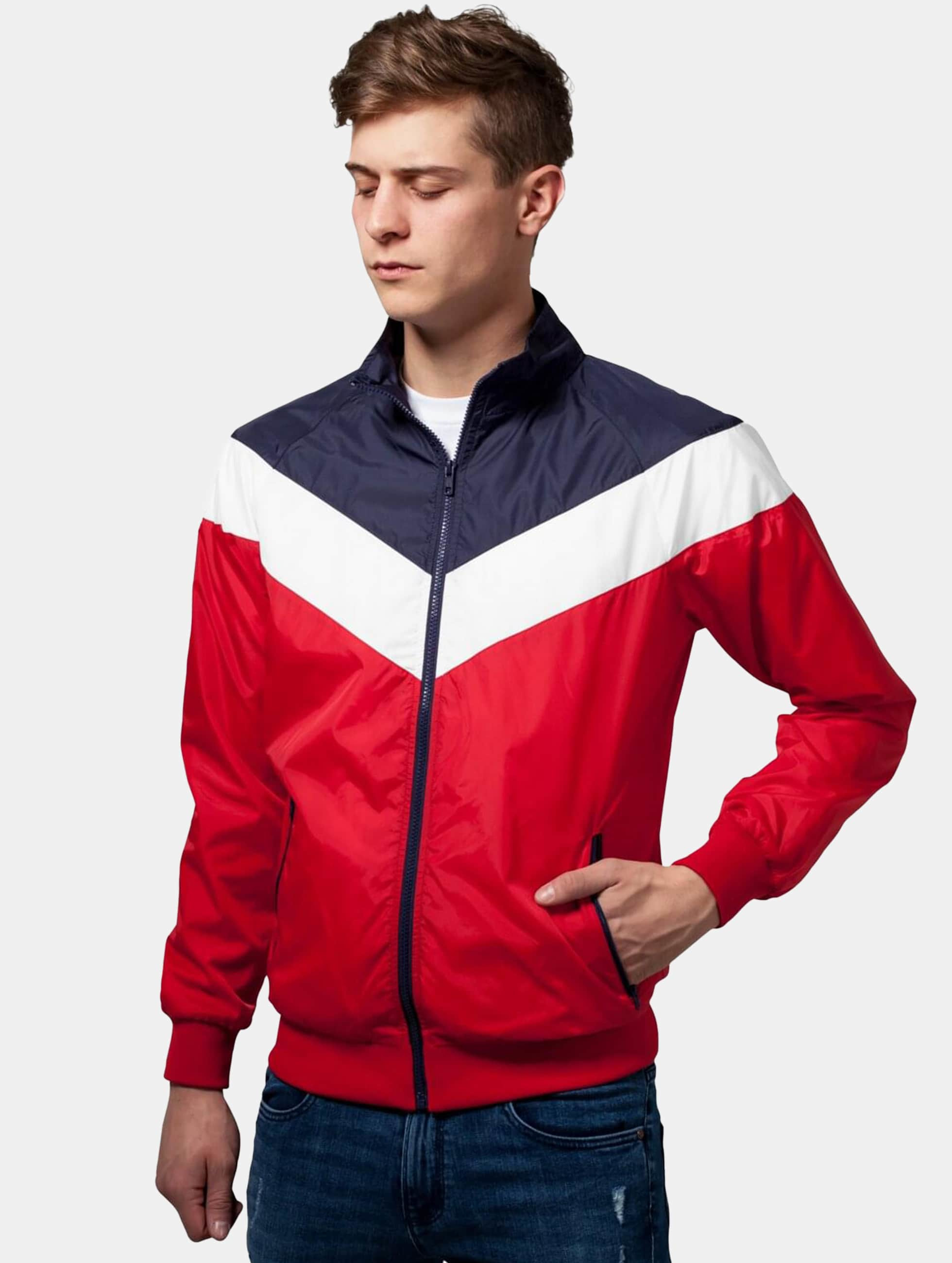 Urban Classics Lightweight Jacket Arrow red