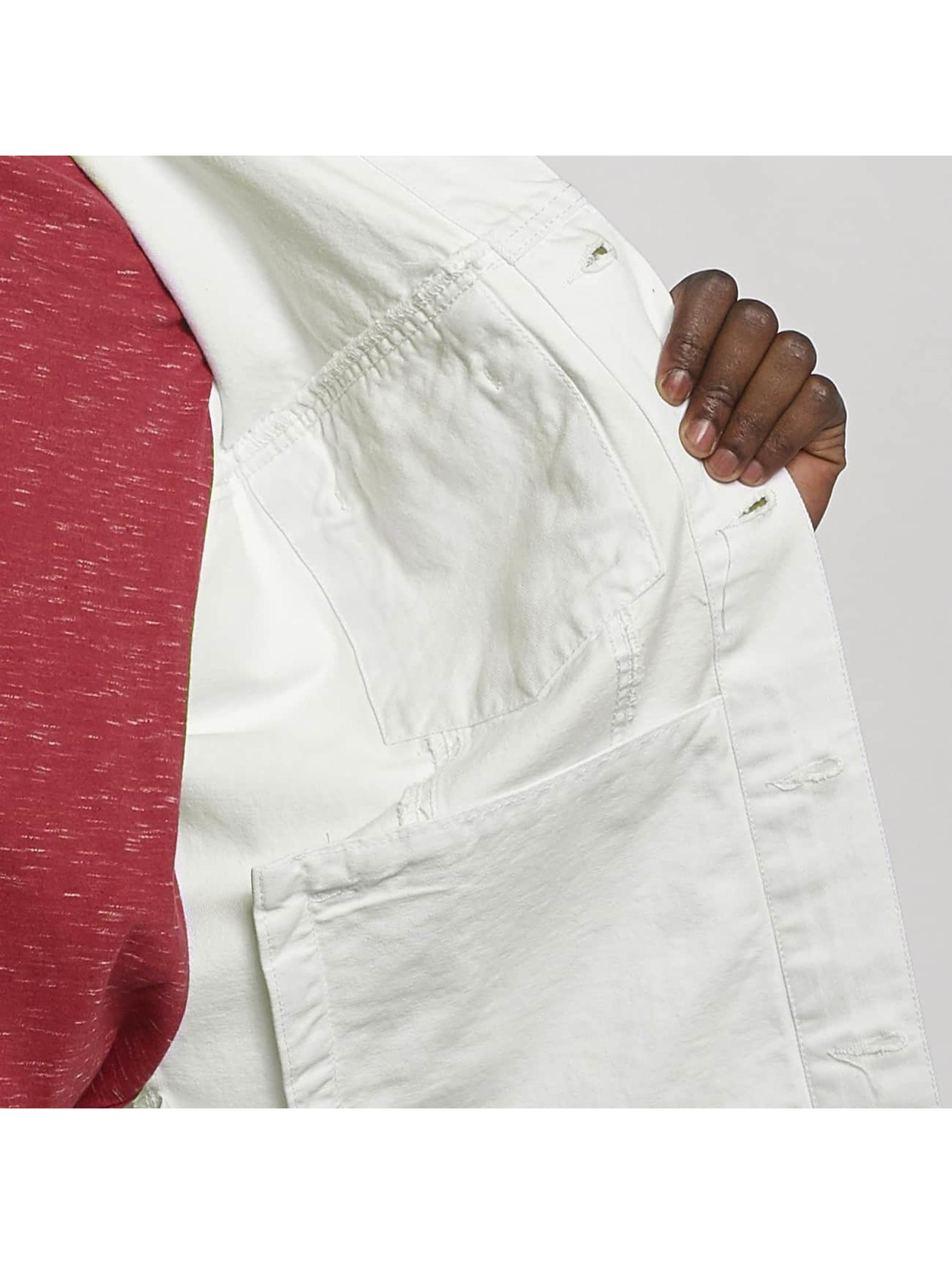 Urban Classics Lightweight Jacket Ripped Denim white