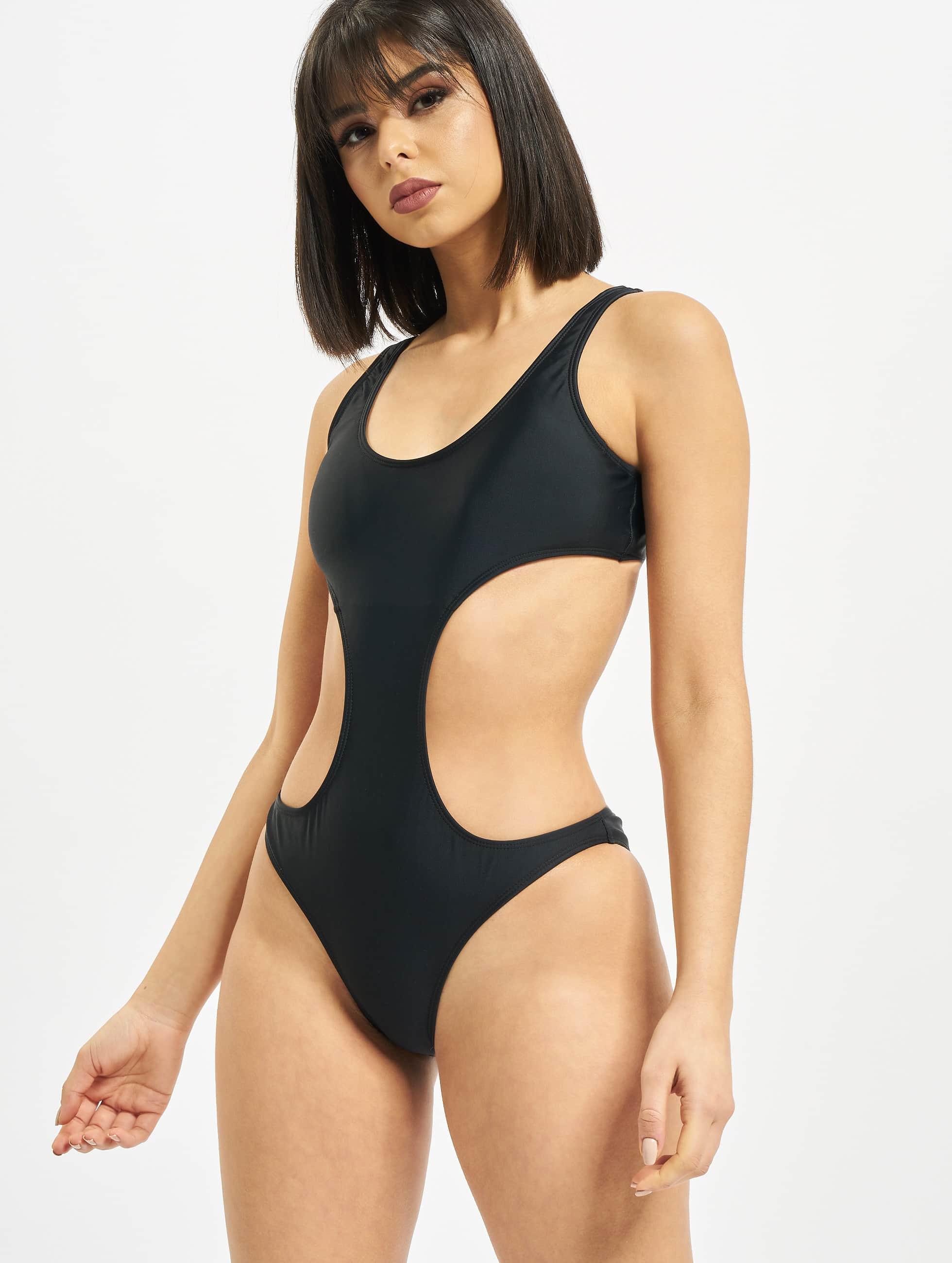 Urban Classics Sous-vêtements / Maillots / Maillot de bain Ladies en noir