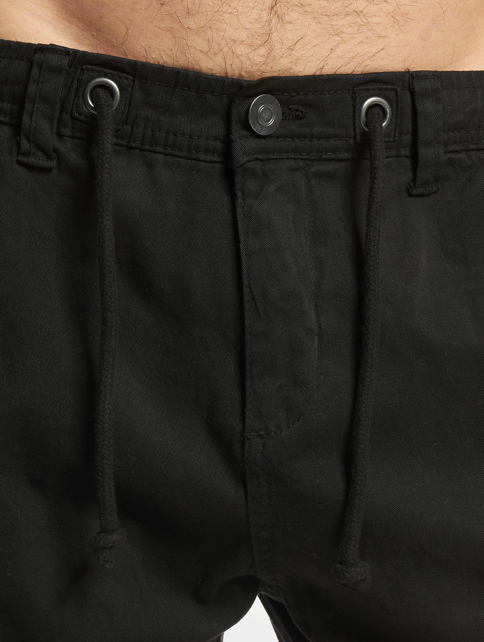 Urban Classics Pantalón deportivo Stretch negro