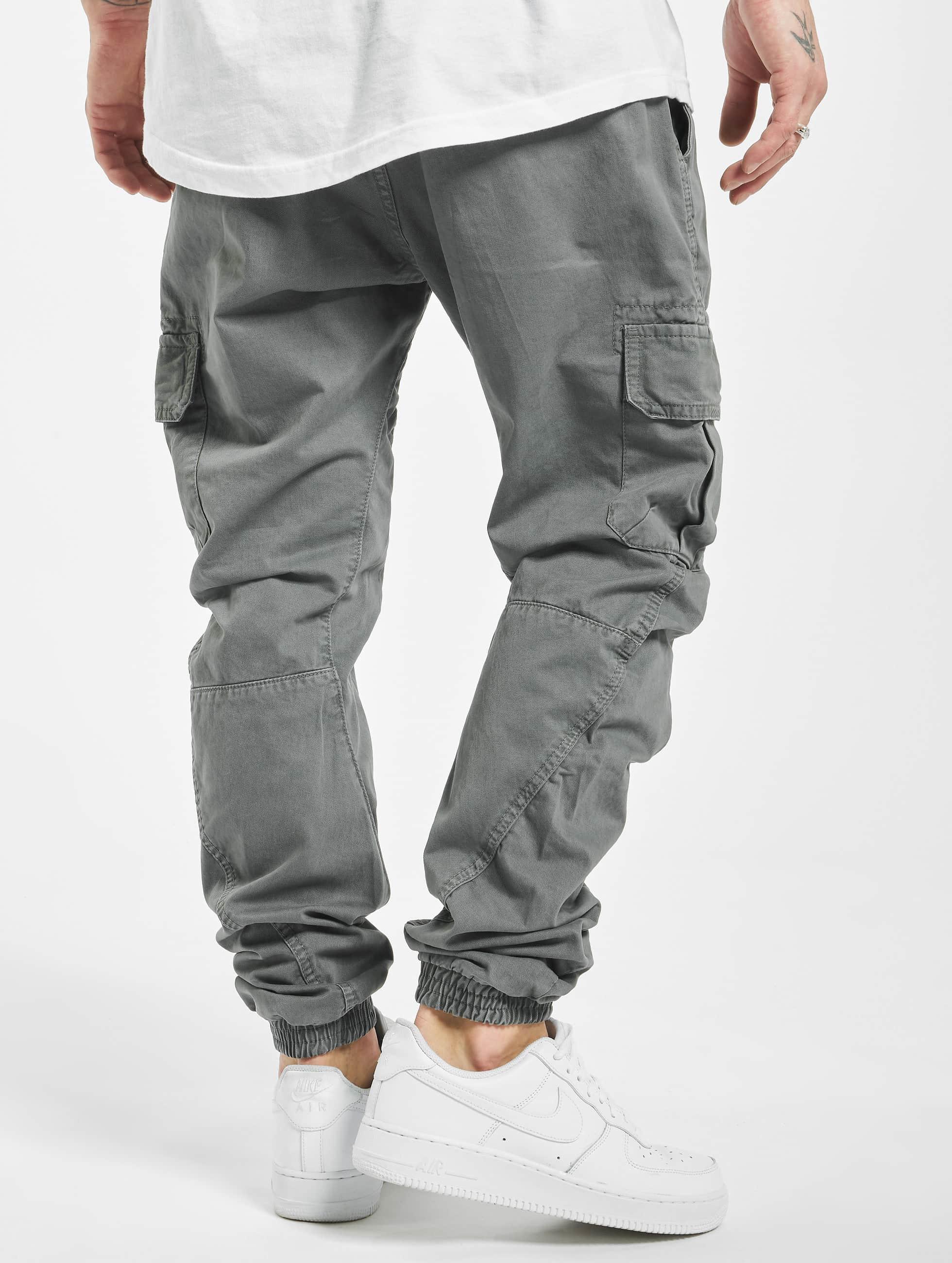 Urban Classics Pantalone ginnico Cargo Jogging grigio