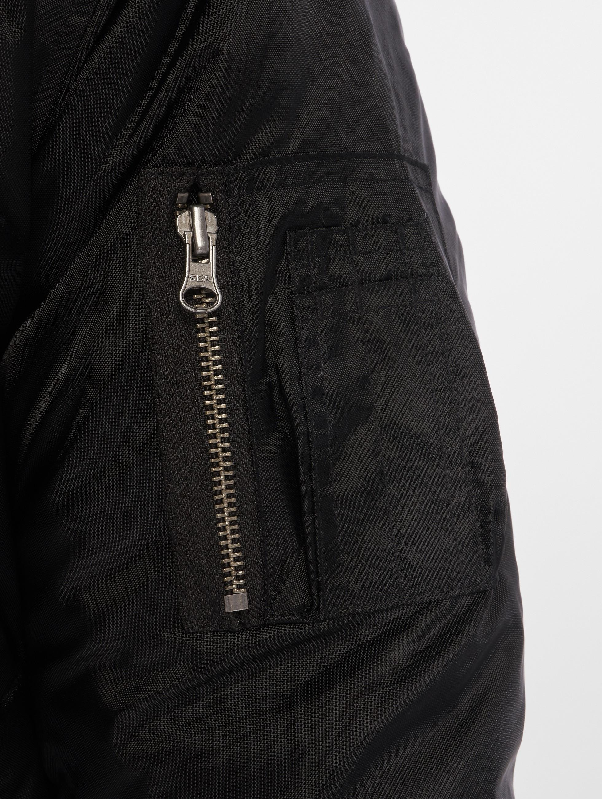 Urban Classics Pilotjakke Hooded Basic svart