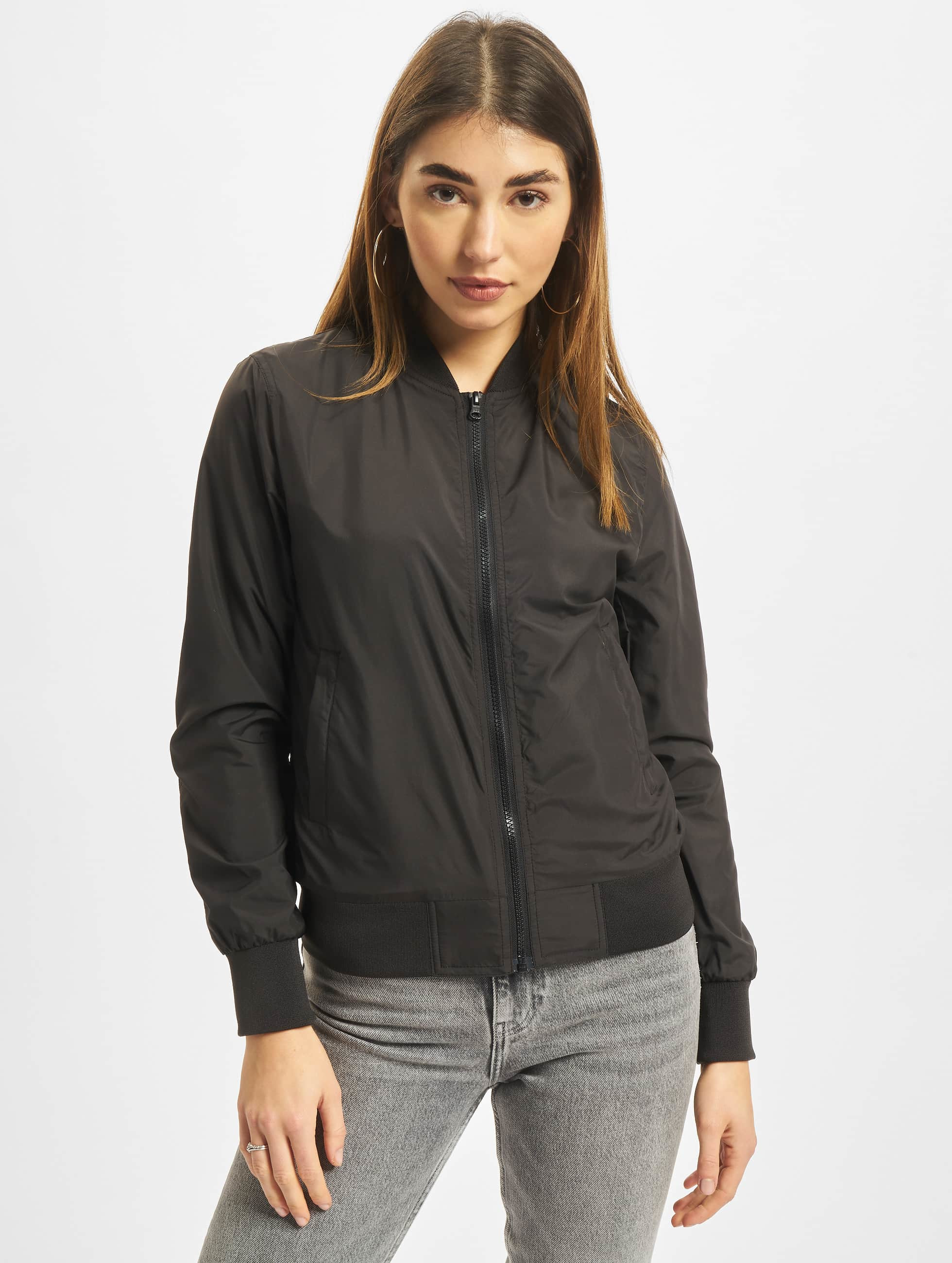 Urban Classics Pilottitakit Ladies Light Bomber musta