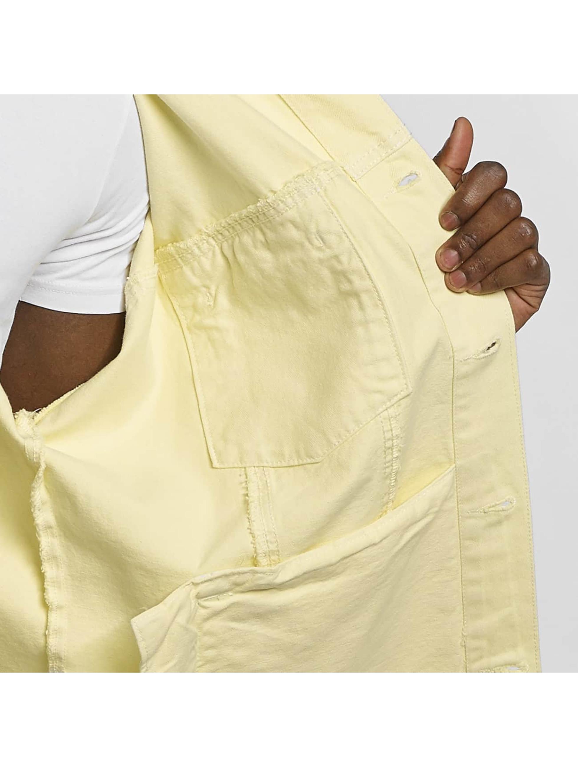 Urban Classics Prechodné vetrovky Garment Dye Oversize žltá
