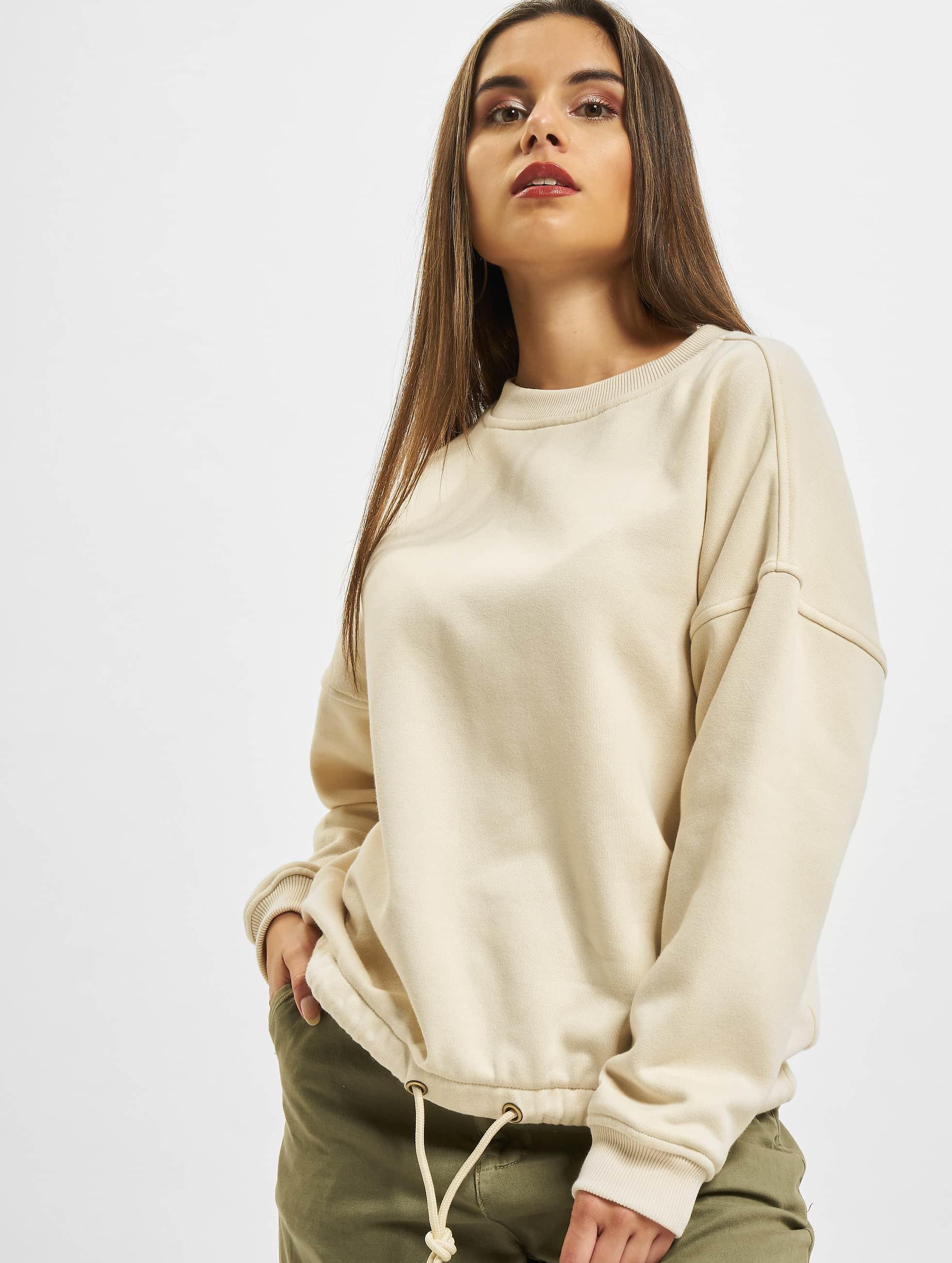 Urban Classics Pullover Ladies Oversized beige