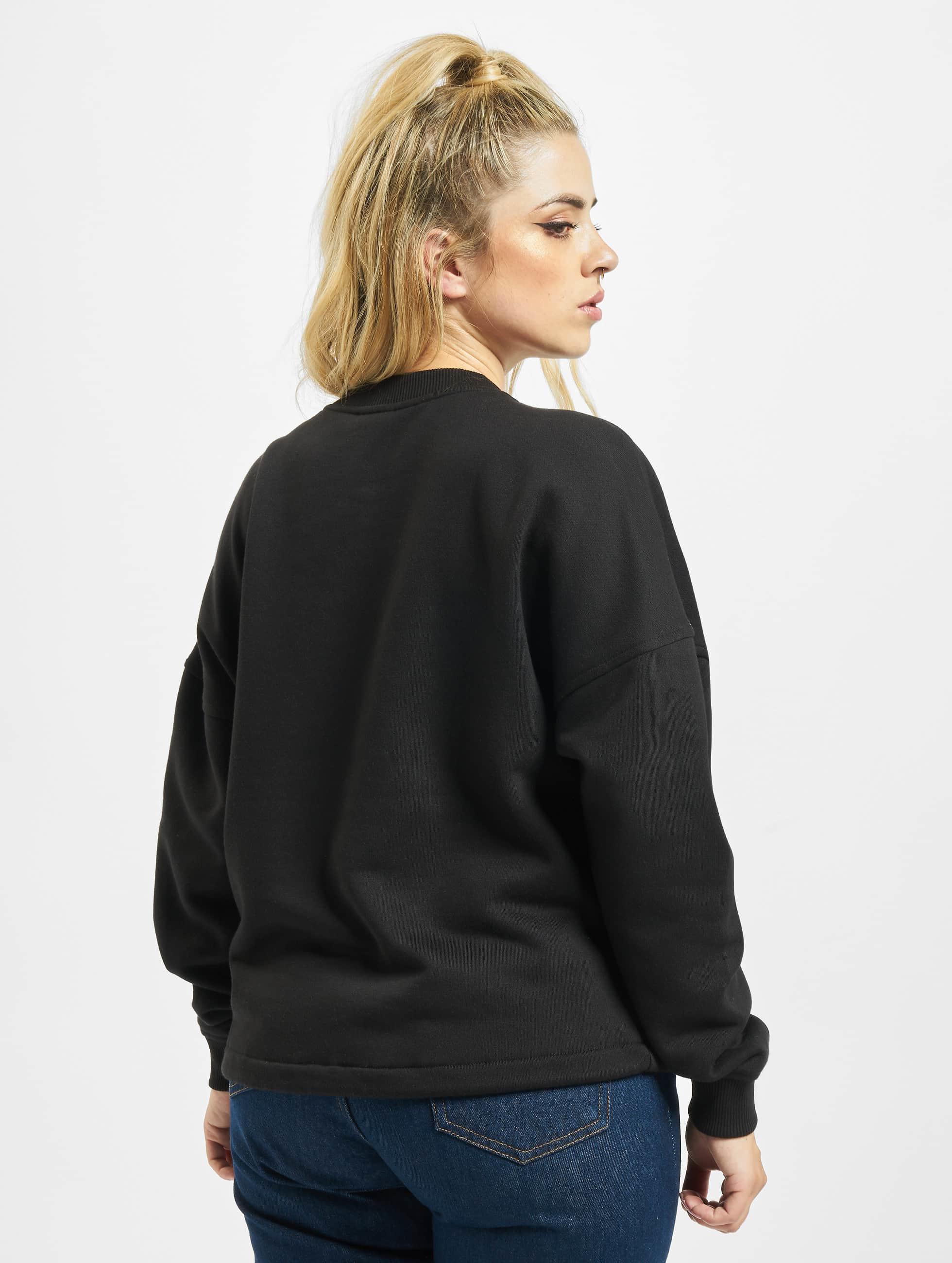 Urban Classics Pullover Ladies Oversized schwarz