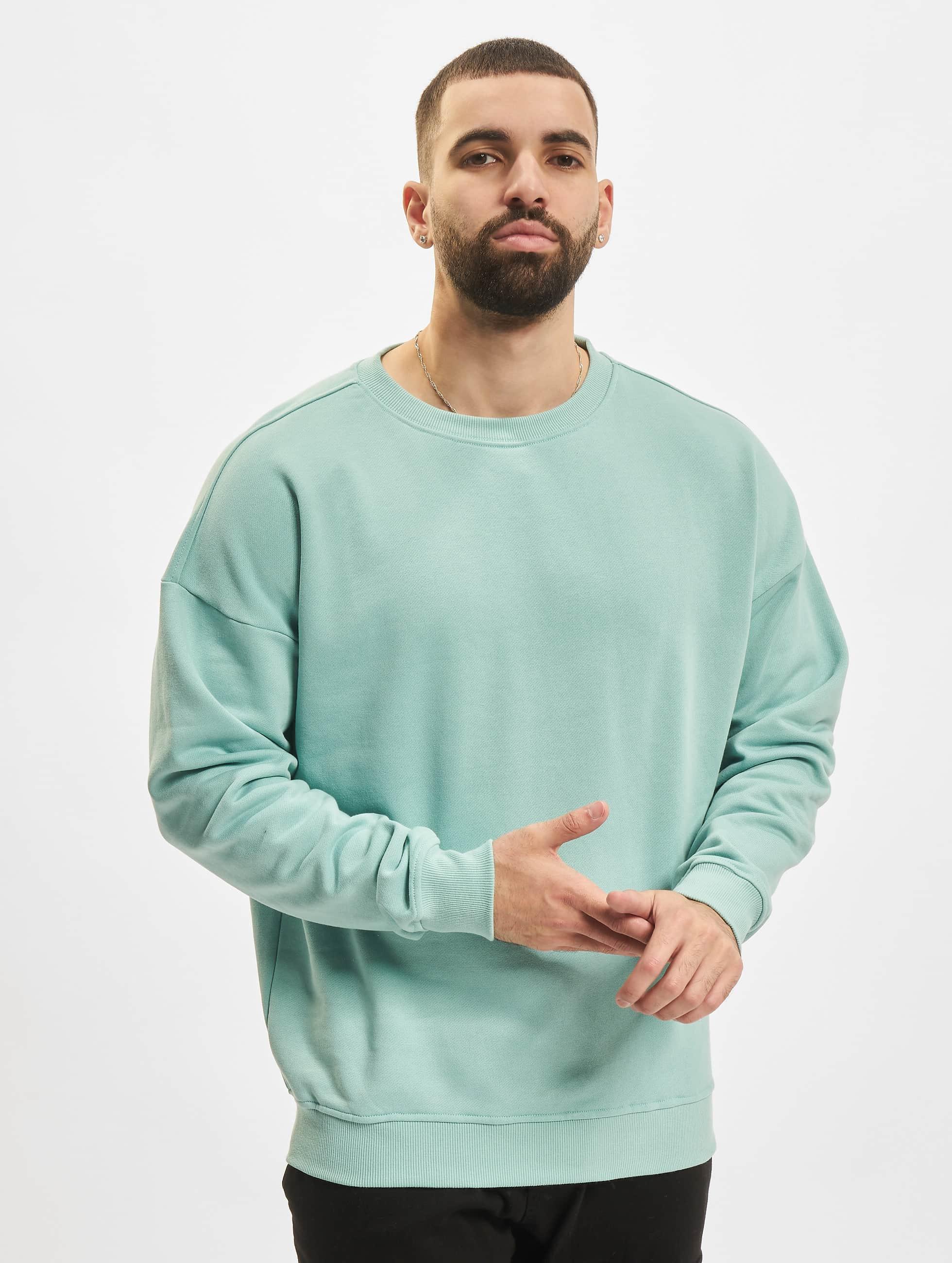Urban Classics Pullover Camden turquoise