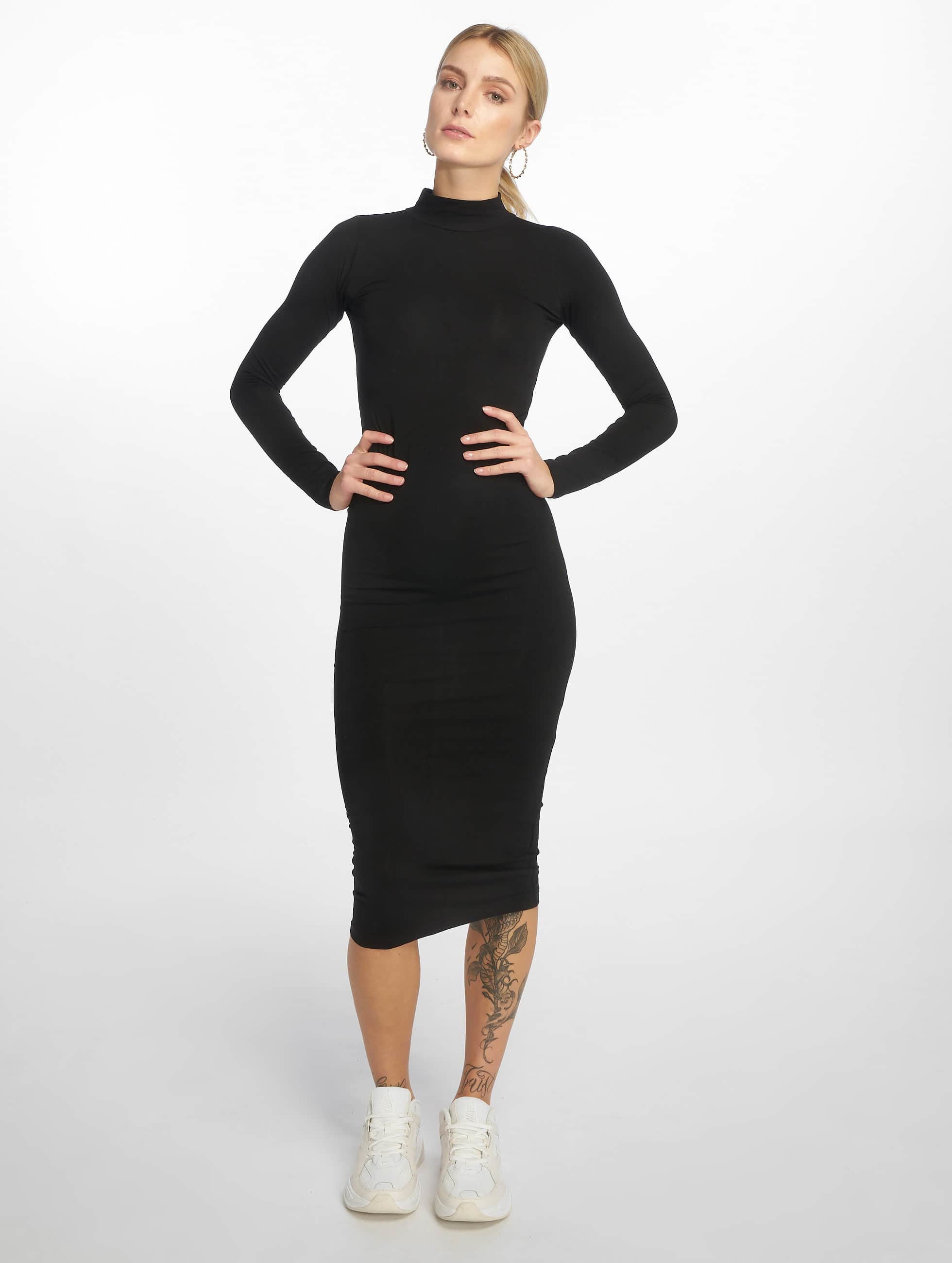 Urban Classics Robe Ladies Turtleneck noir