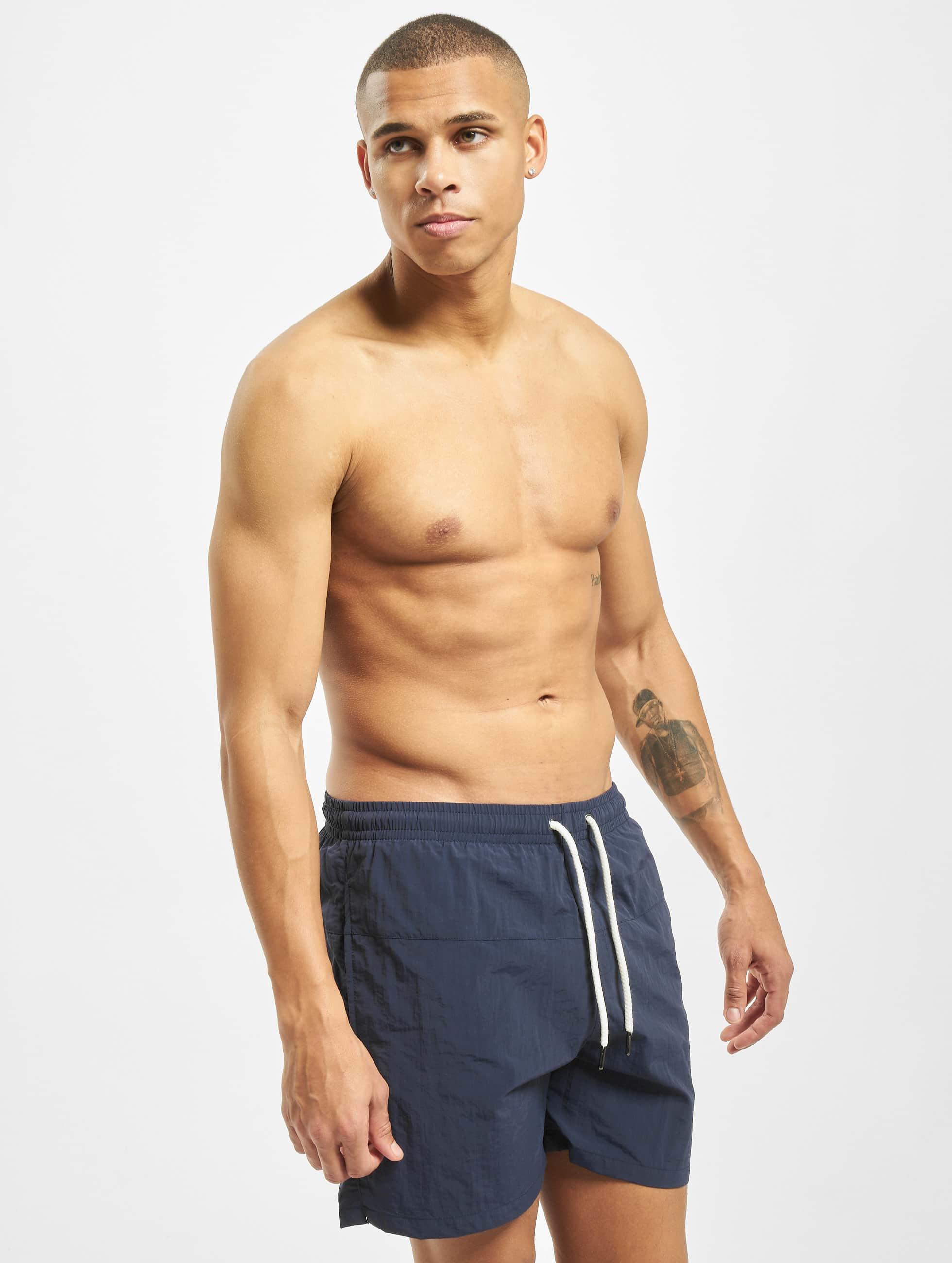 Urban Classics Sous-vêtements / Maillots / Short de bain Block en bleu