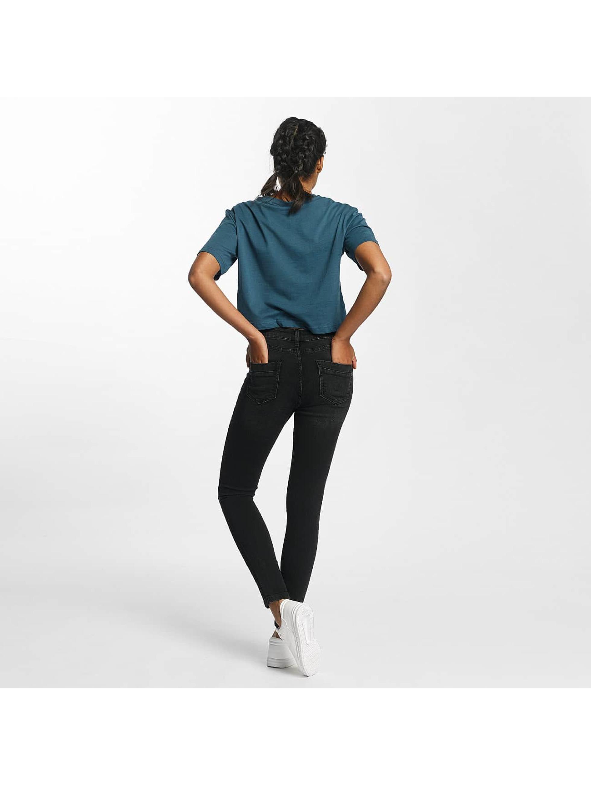 Urban Classics Skinny Jeans Skinny Denim čern